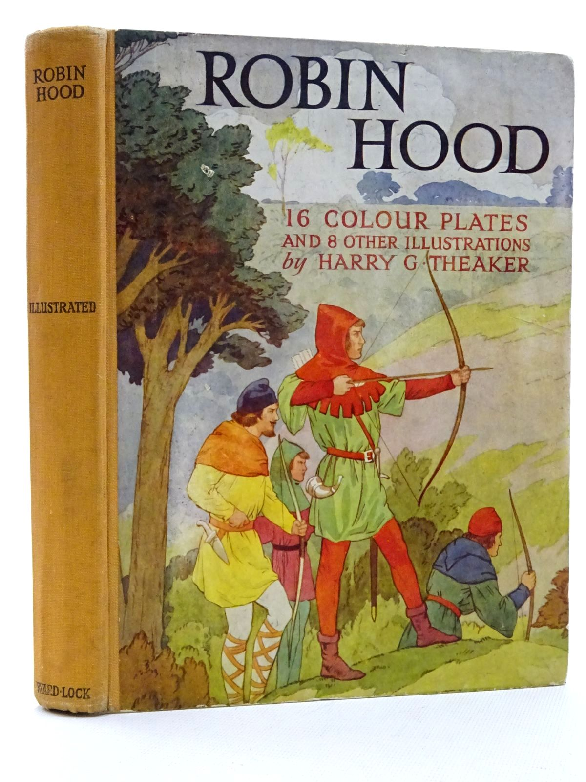 Photo of ROBIN HOOD written by Vivian, E. Charles illustrated by Theaker, Harry G. published by Ward, Lock & Co. Ltd. (STOCK CODE: 2125155)  for sale by Stella & Rose's Books