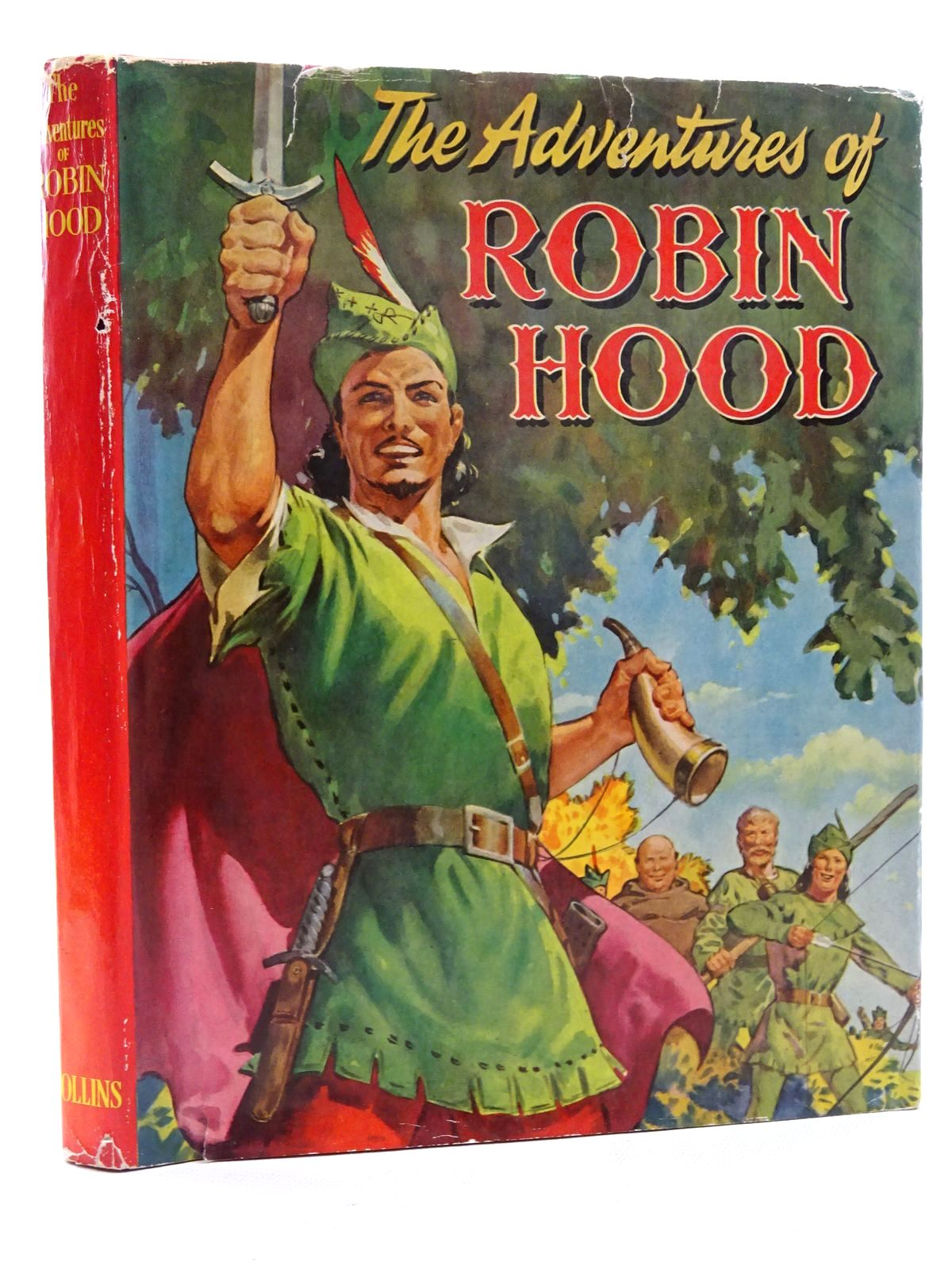 Photo of THE ADVENTURES OF ROBIN HOOD published by Collins Clear-Type Press (STOCK CODE: 2125157)  for sale by Stella & Rose's Books