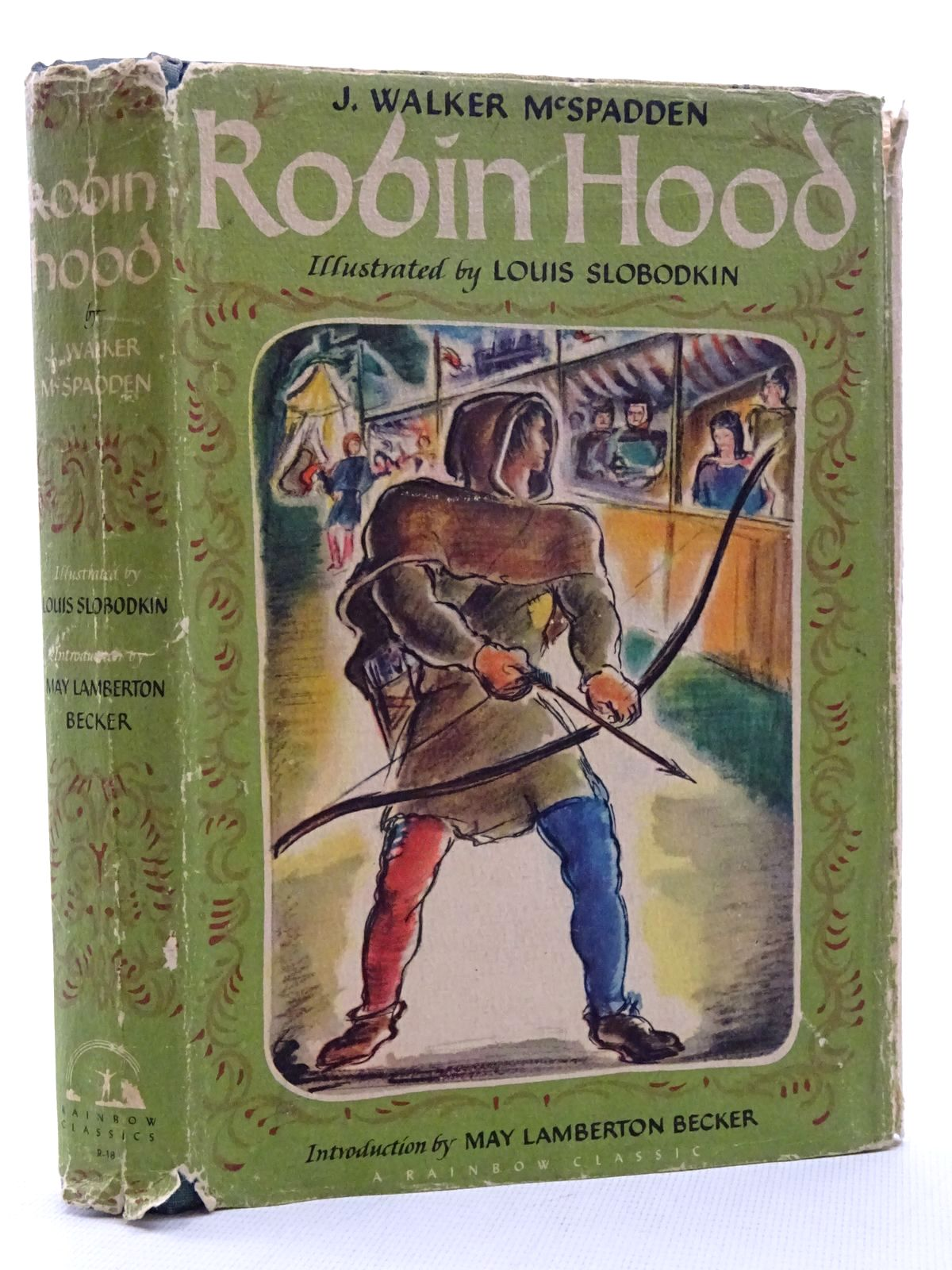 Photo of ROBIN HOOD AND HIS MERRY OUTLAWS written by McSpadden, J. Walker<br />Becker, May Lamberton illustrated by Slobodkin, Louis published by The World Publishing Company (STOCK CODE: 2125163)  for sale by Stella & Rose's Books