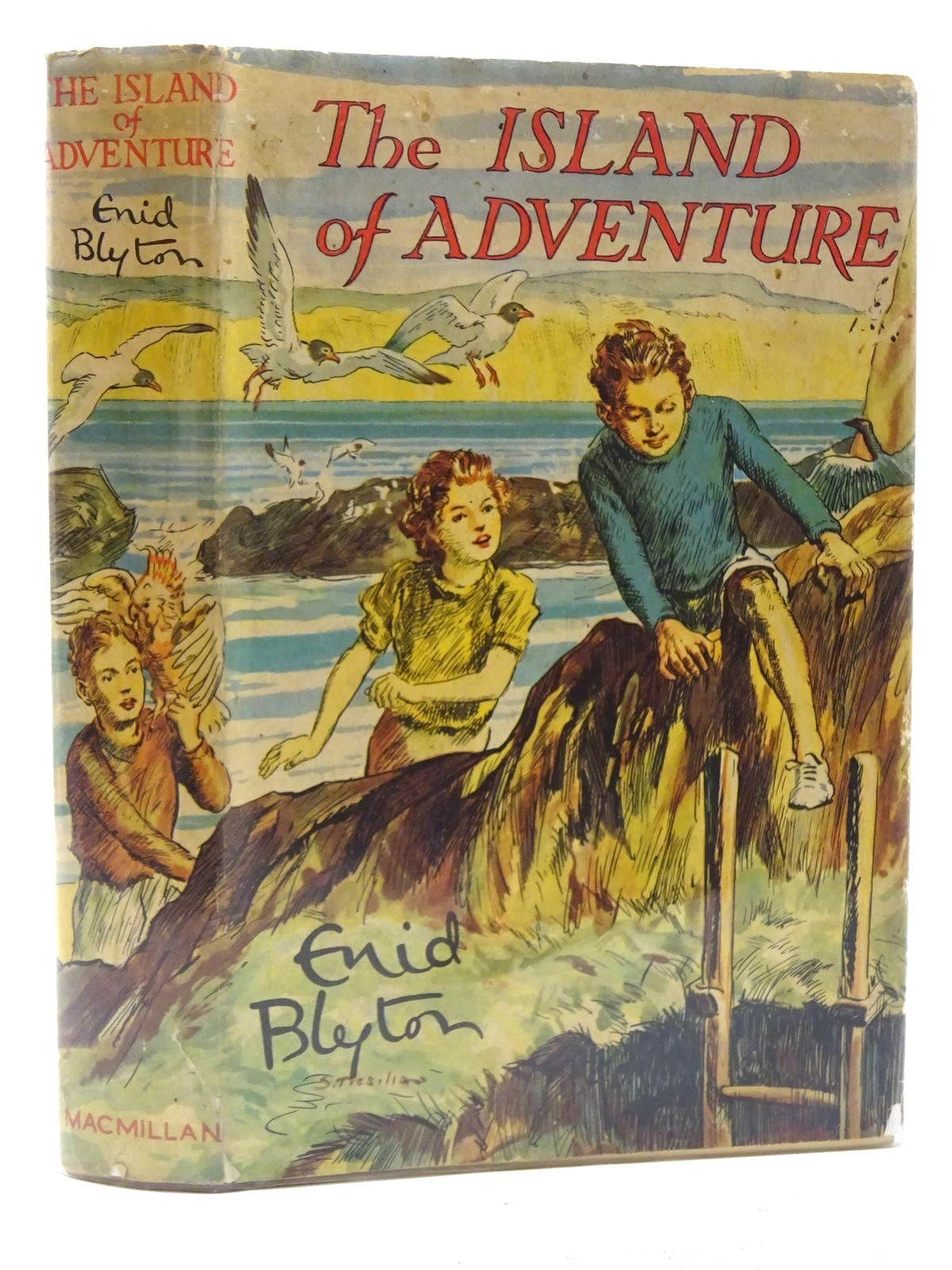 Photo of THE ISLAND OF ADVENTURE written by Blyton, Enid illustrated by Tresilian, Stuart published by Macmillan & Co. Ltd. (STOCK CODE: 2125181)  for sale by Stella & Rose's Books
