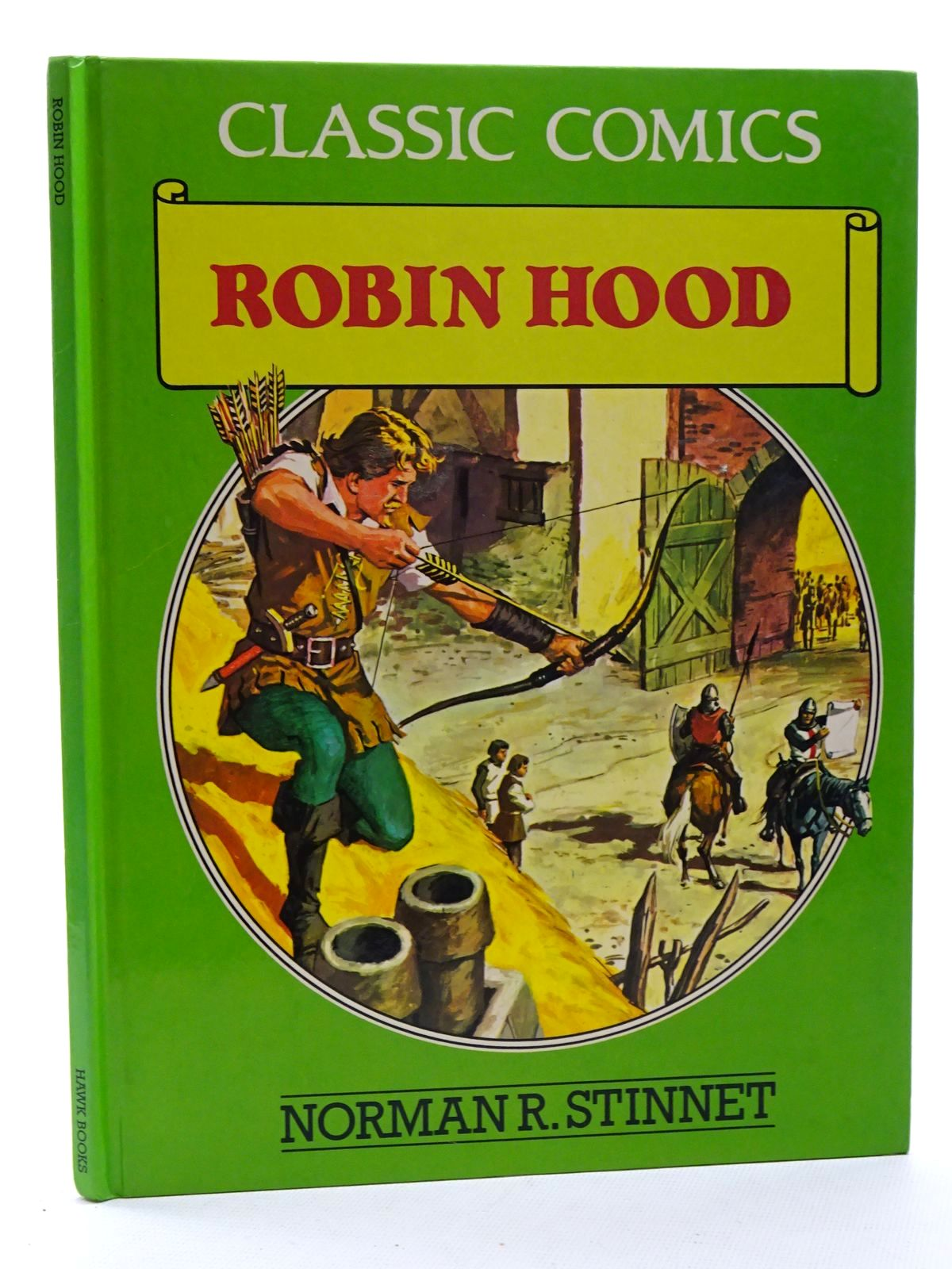 Photo of ROBIN HOOD written by Stinnet, Norman R. Kimberly, Marion published by Hawk Books (STOCK CODE: 2125213)  for sale by Stella & Rose's Books