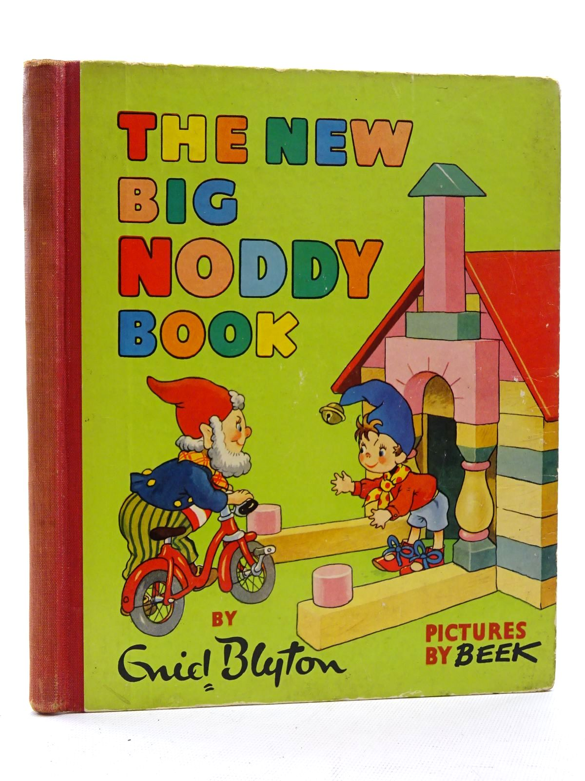 Photo of THE BIG NODDY BOOK written by Blyton, Enid illustrated by Beek,  published by Sampson Low, Marston & Co. Ltd., C.A. Publications, Ltd. (STOCK CODE: 2125235)  for sale by Stella & Rose's Books
