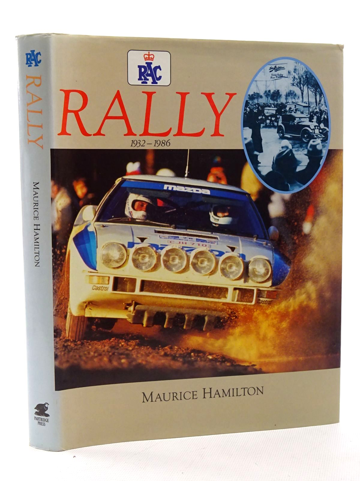 Photo of RAC RALLY written by Hamilton, Maurice published by Partridge Press (STOCK CODE: 2125240)  for sale by Stella & Rose's Books