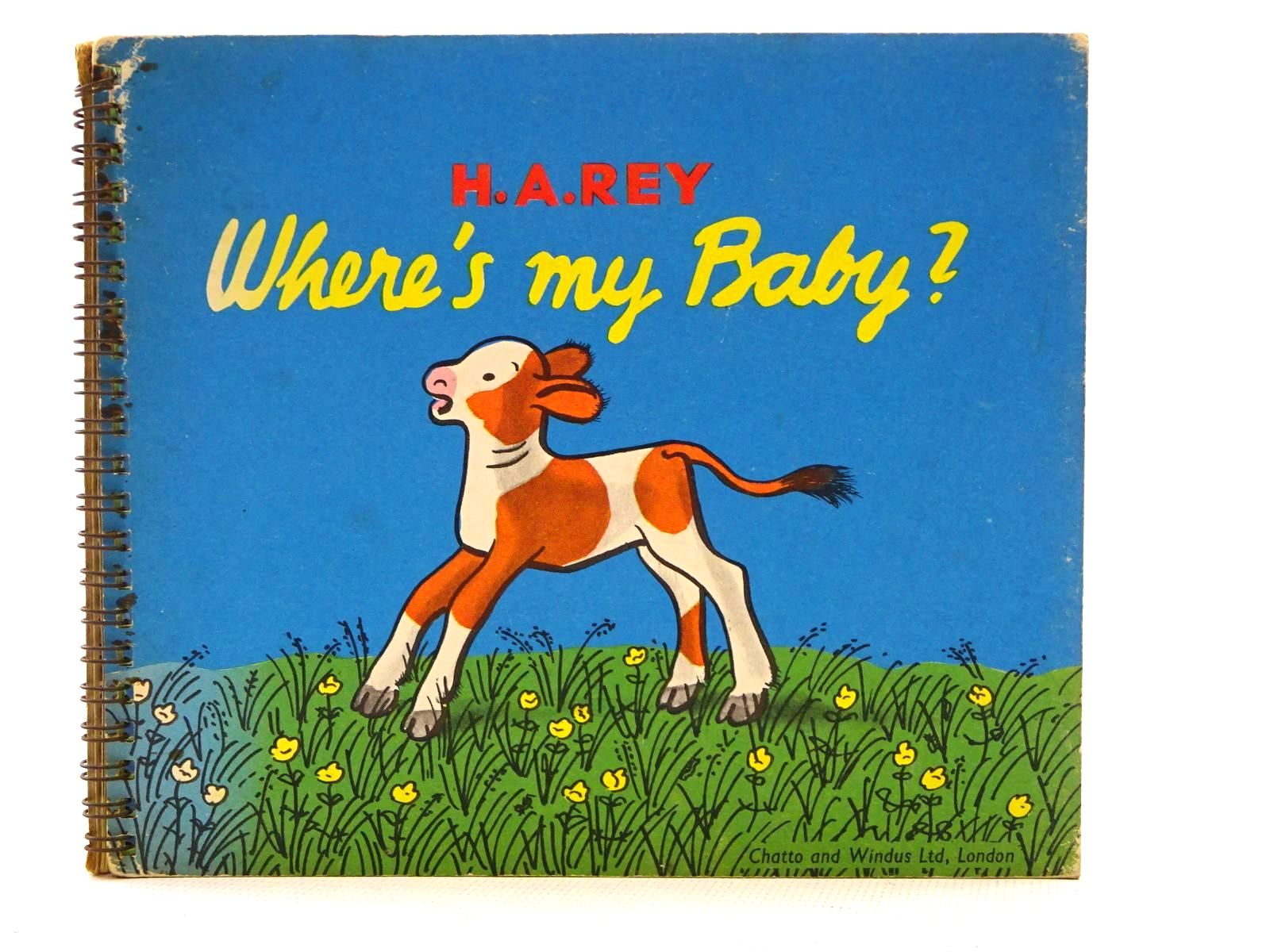 Photo of WHERE'S MY BABY? written by Rey, H.A. illustrated by Rey, H.A. published by Chatto & Windus, Jarrold & Sons (STOCK CODE: 2125250)  for sale by Stella & Rose's Books
