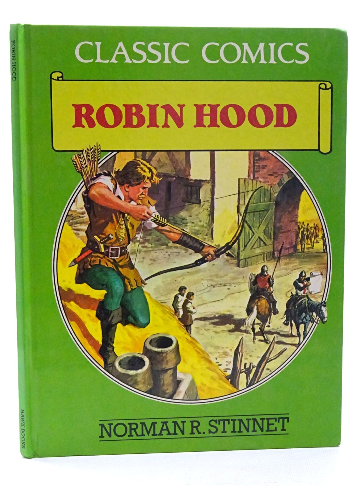Photo of ROBIN HOOD written by Stinnet, Norman R. Kimberly, Marion published by Hawk Books (STOCK CODE: 2125262)  for sale by Stella & Rose's Books