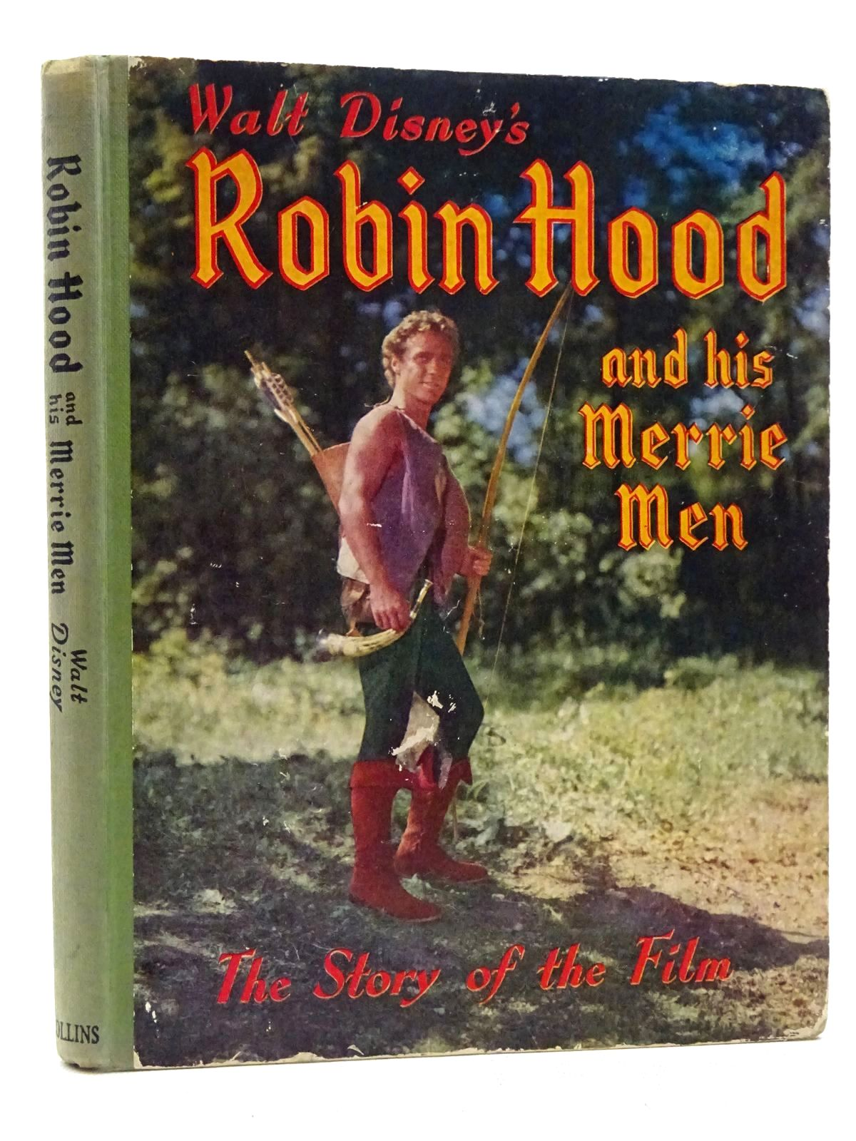 Photo of WALT DISNEY'S ROBIN HOOD AND HIS MERRIE MEN written by Disney, Walt illustrated by Disney, Walt published by Collins (STOCK CODE: 2125274)  for sale by Stella & Rose's Books