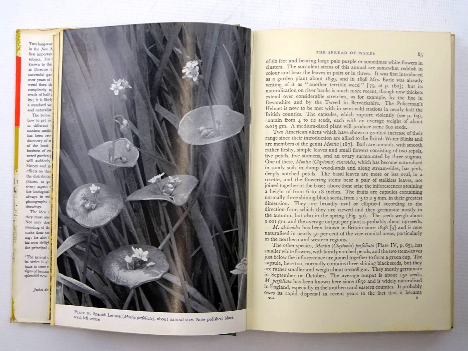 Photo of WEEDS & ALIENS (NN 43) written by Salisbury, Edward published by Collins (STOCK CODE: 2125281)  for sale by Stella & Rose's Books