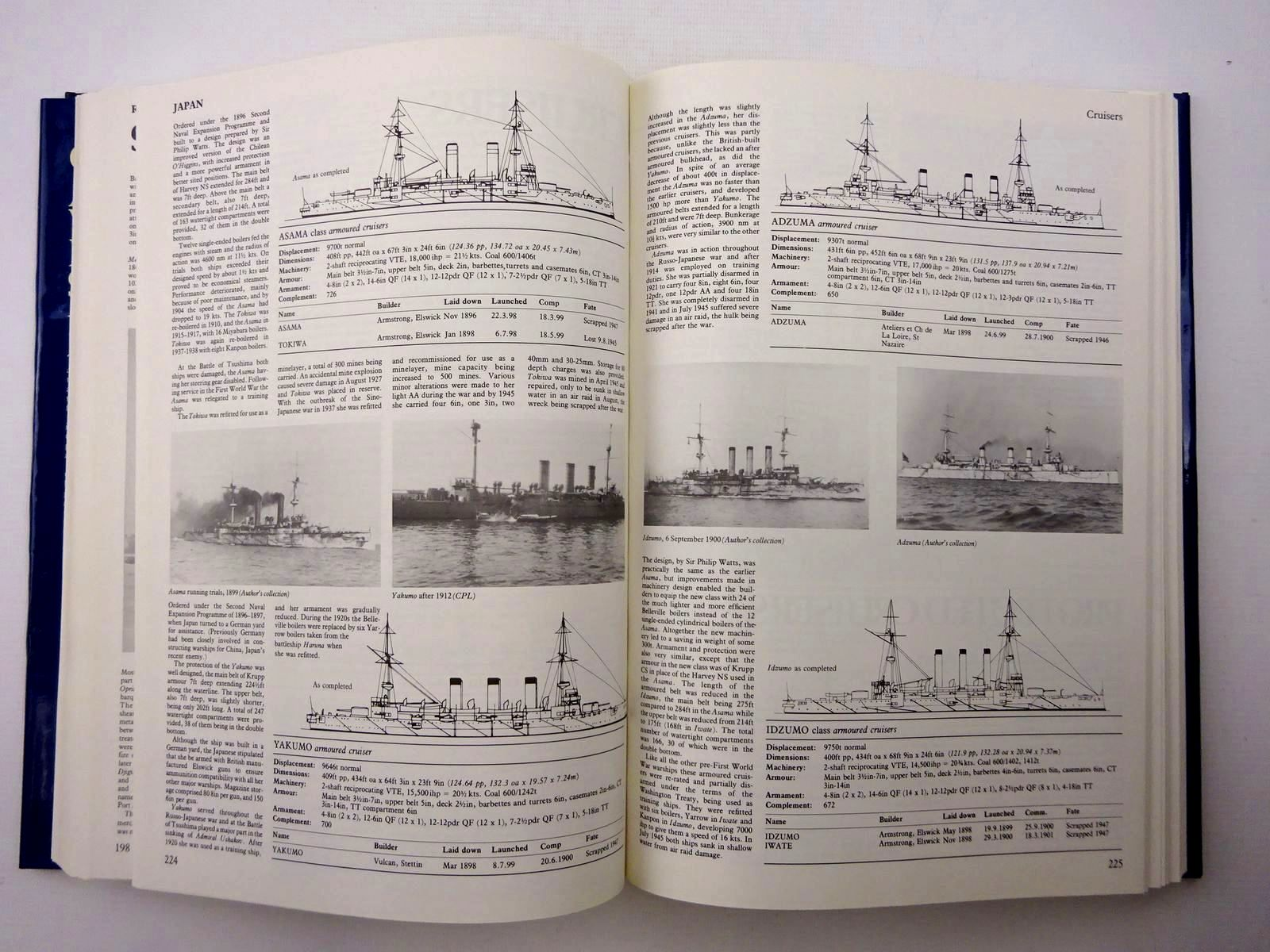 Photo of CONWAY'S ALL THE WORLD'S FIGHTING SHIPS 1860-1905 written by Gardiner, Robert