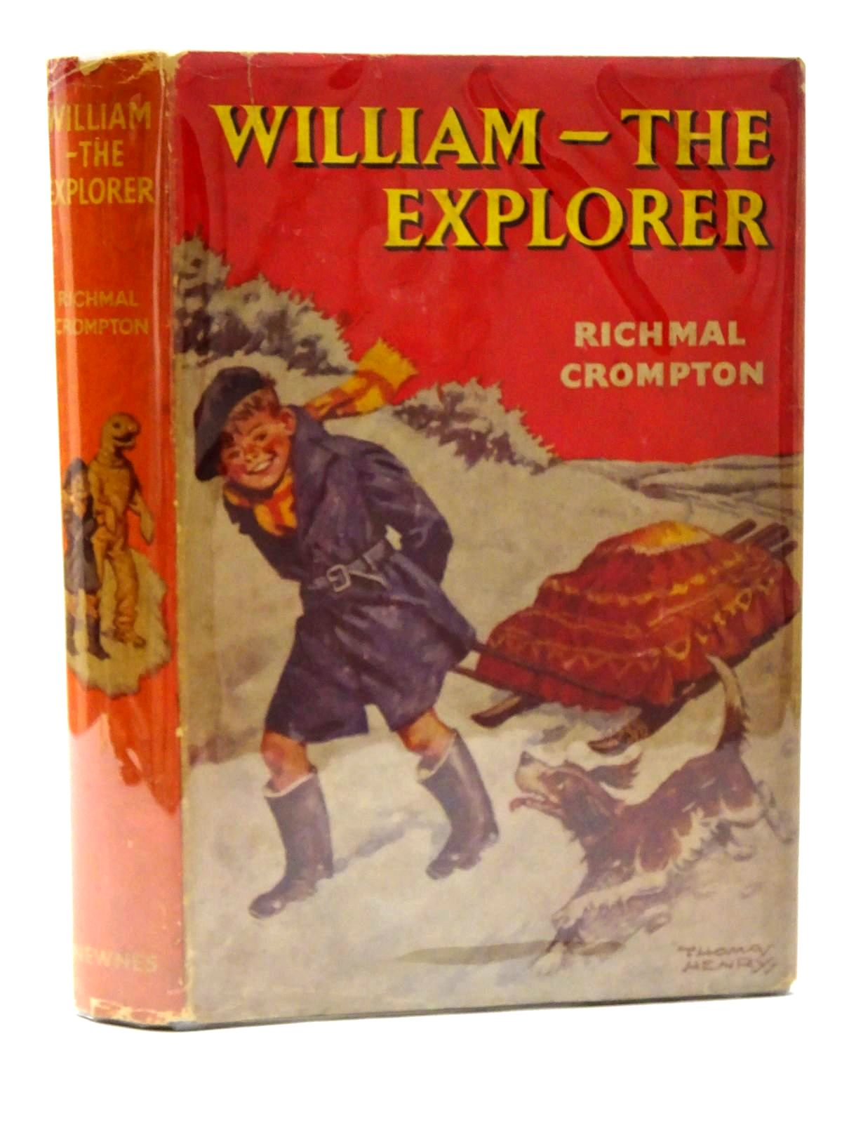 Photo of WILLIAM THE EXPLORER written by Crompton, Richmal illustrated by Henry, Thomas published by George Newnes (STOCK CODE: 2125299)  for sale by Stella & Rose's Books