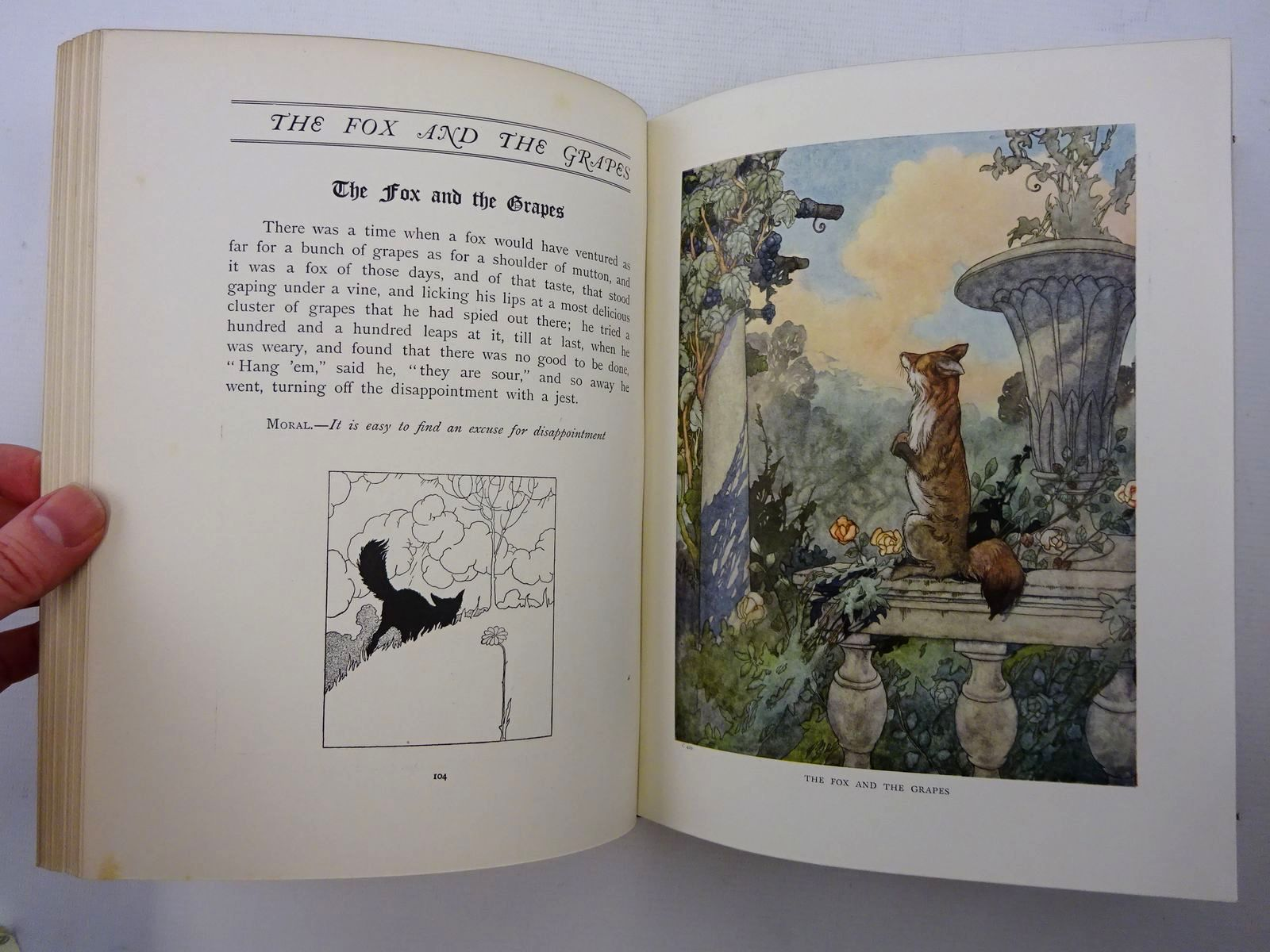 Photo of THE BIG BOOK OF FABLES written by Jerrold, Walter illustrated by Robinson, Charles published by Blackie & Son Ltd. (STOCK CODE: 2125303)  for sale by Stella & Rose's Books