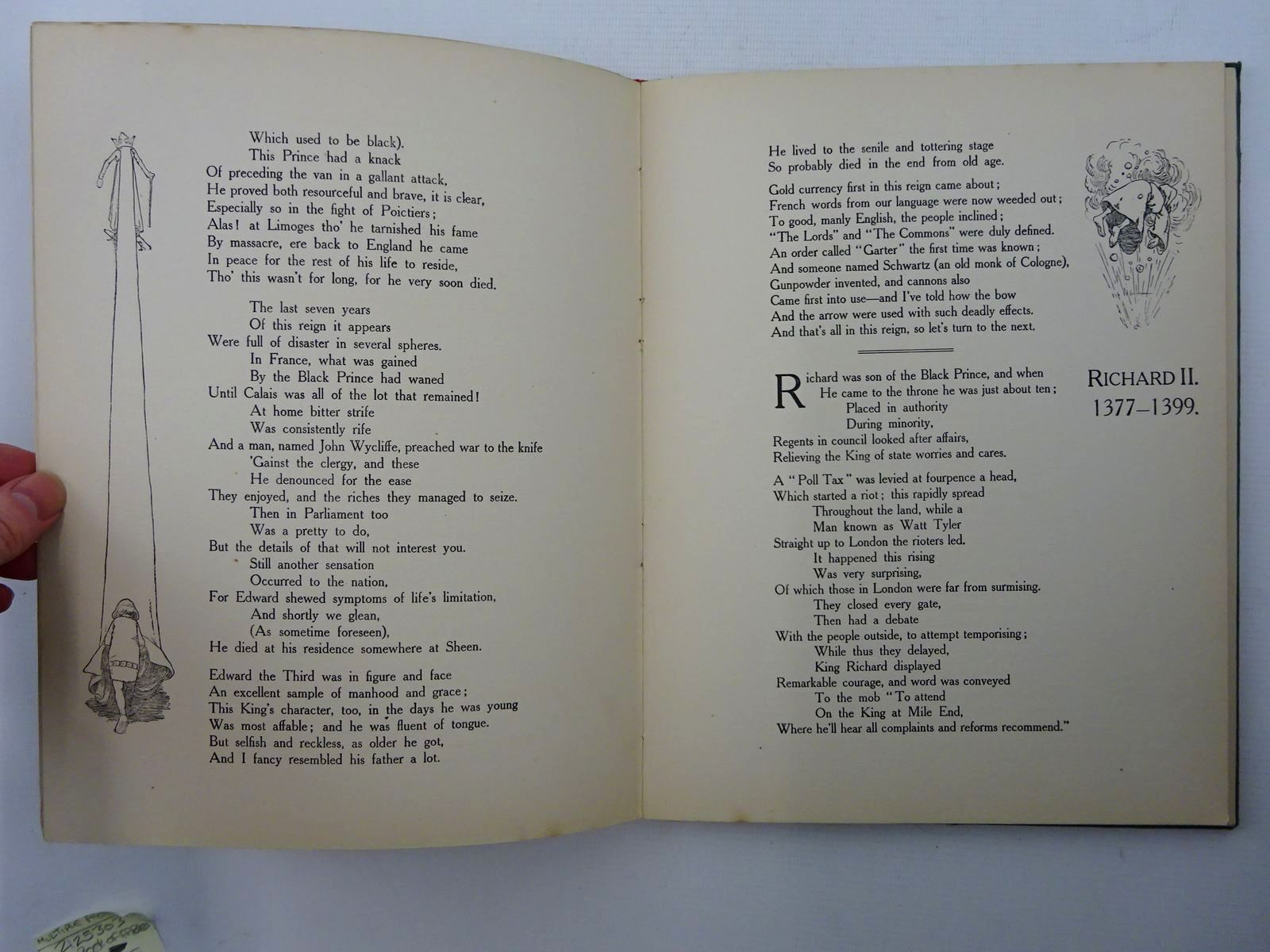 Photo of THE MONARCHS OF MERRY ENGLAND (EDWARD I TO RICHARD III) written by Carse, Roland illustrated by Robinson, W. Heath (STOCK CODE: 2125304)  for sale by Stella & Rose's Books