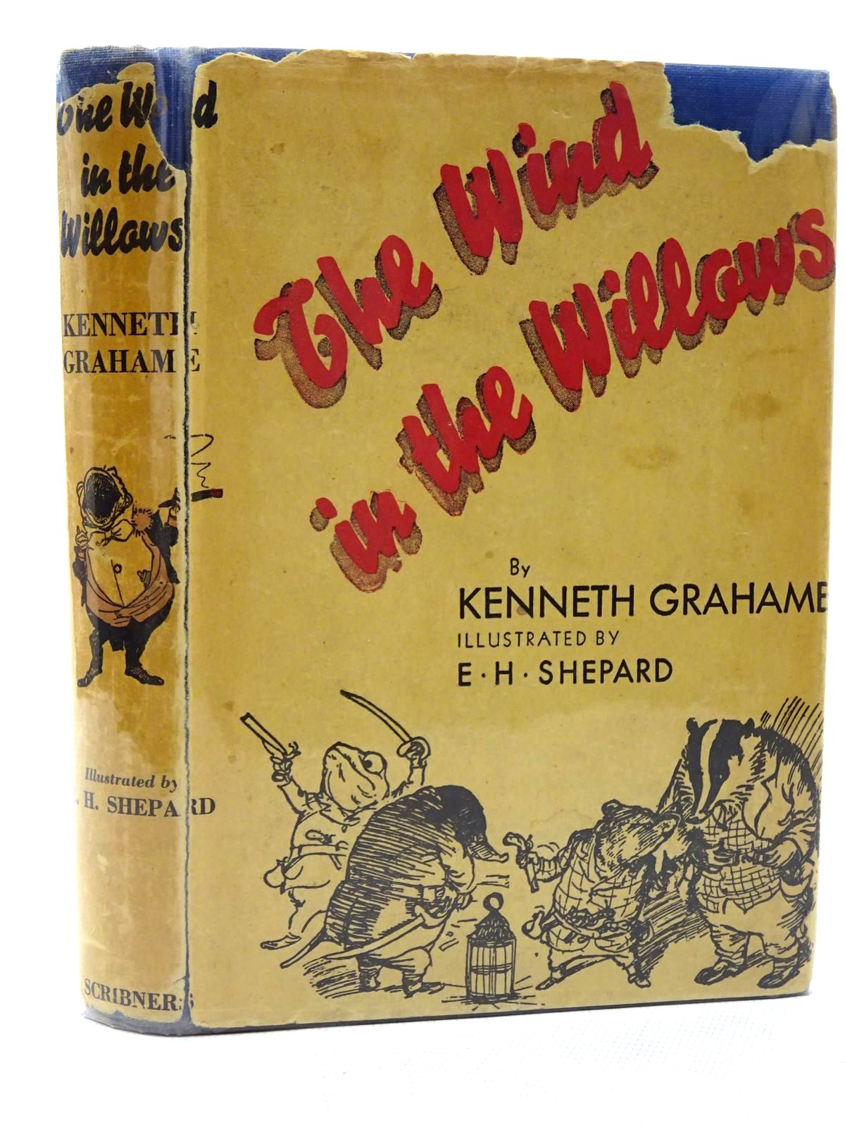 Photo of THE WIND IN THE WILLOWS written by Grahame, Kenneth illustrated by Shepard, E.H. published by Charles Scribner's Sons (STOCK CODE: 2125316)  for sale by Stella & Rose's Books
