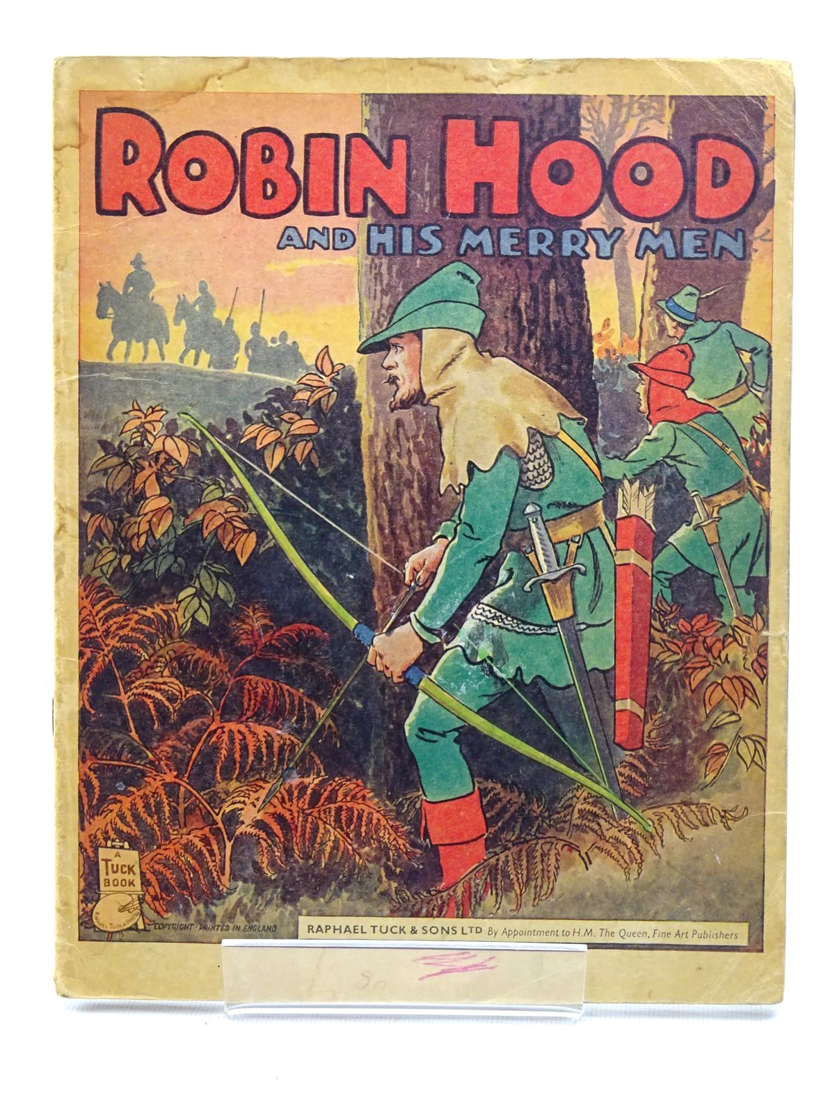 Photo of ROBIN HOOD AND HIS MERRY MEN written by Trelleck,  illustrated by Trelleck,  published by Raphael Tuck (STOCK CODE: 2125323)  for sale by Stella & Rose's Books
