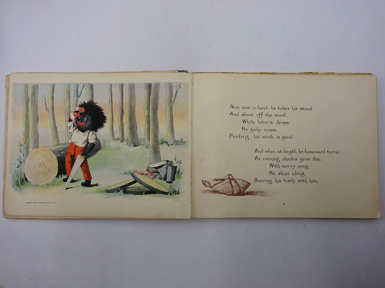 Photo of THE GOLLIWOGG'S BICYCLE CLUB written by Upton, Bertha illustrated by Upton, Florence published by Longmans, Green & Co. (STOCK CODE: 2125349)  for sale by Stella & Rose's Books