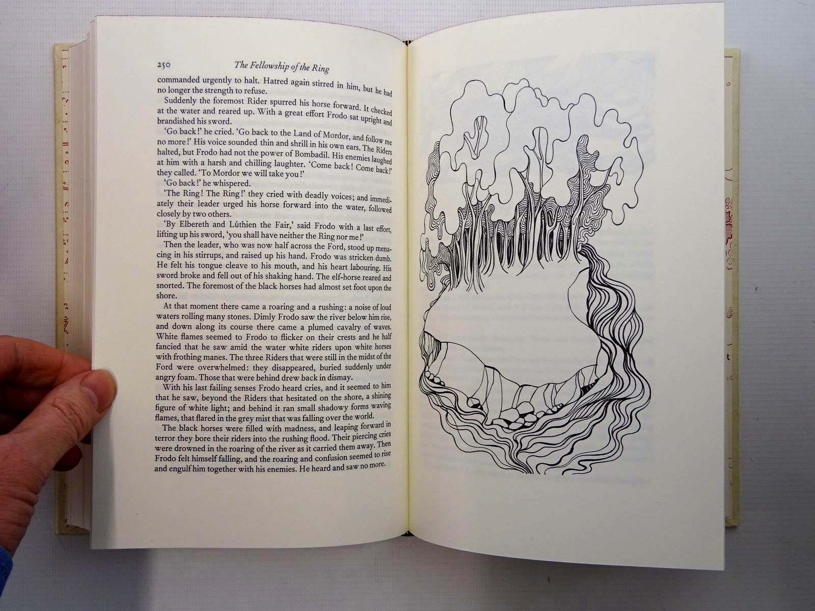 Photo of THE LORD OF THE RINGS written by Tolkien, J.R.R. illustrated by Grathmer, Ingahild Fraser, Eric published by Folio Society (STOCK CODE: 2125351)  for sale by Stella & Rose's Books