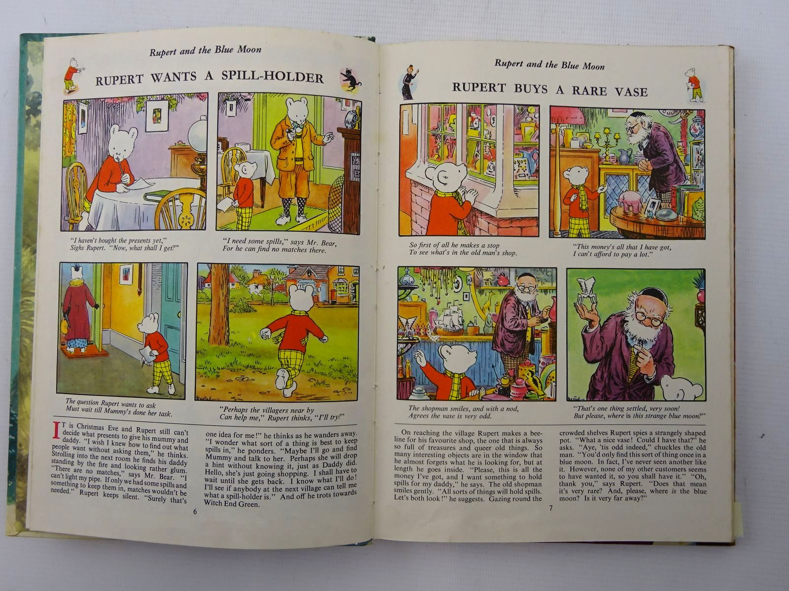 Photo of RUPERT ANNUAL 1956 - THE RUPERT BOOK written by Bestall, Alfred illustrated by Bestall, Alfred published by Oldbourne Book Co. Ltd. (STOCK CODE: 2125354)  for sale by Stella & Rose's Books