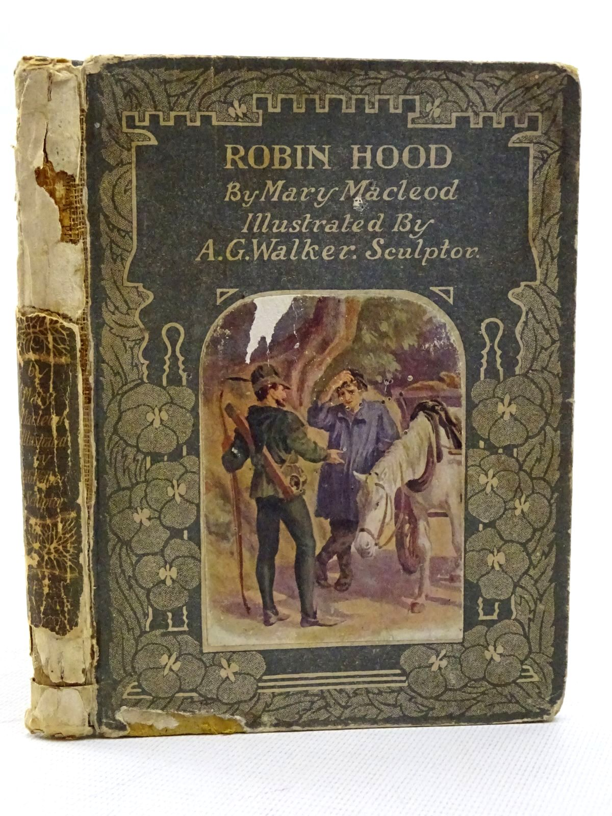 Photo of ROBIN HOOD AND HIS MERRY MEN written by Macleod, Mary illustrated by Walker, A.G. published by Wells Gardner, Darton & Co. (STOCK CODE: 2125365)  for sale by Stella & Rose's Books