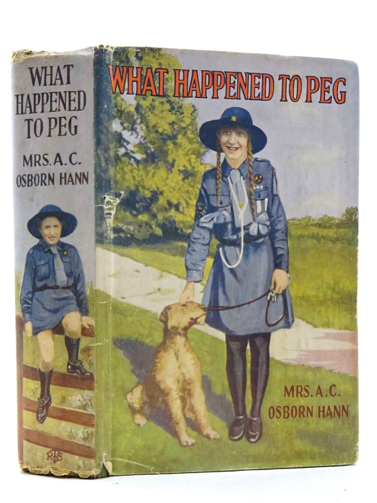 Photo of WHAT HAPPENED TO PEG written by Hann, Mrs. A.C. Osborn published by The Religious Tract Society (STOCK CODE: 2125452)  for sale by Stella & Rose's Books