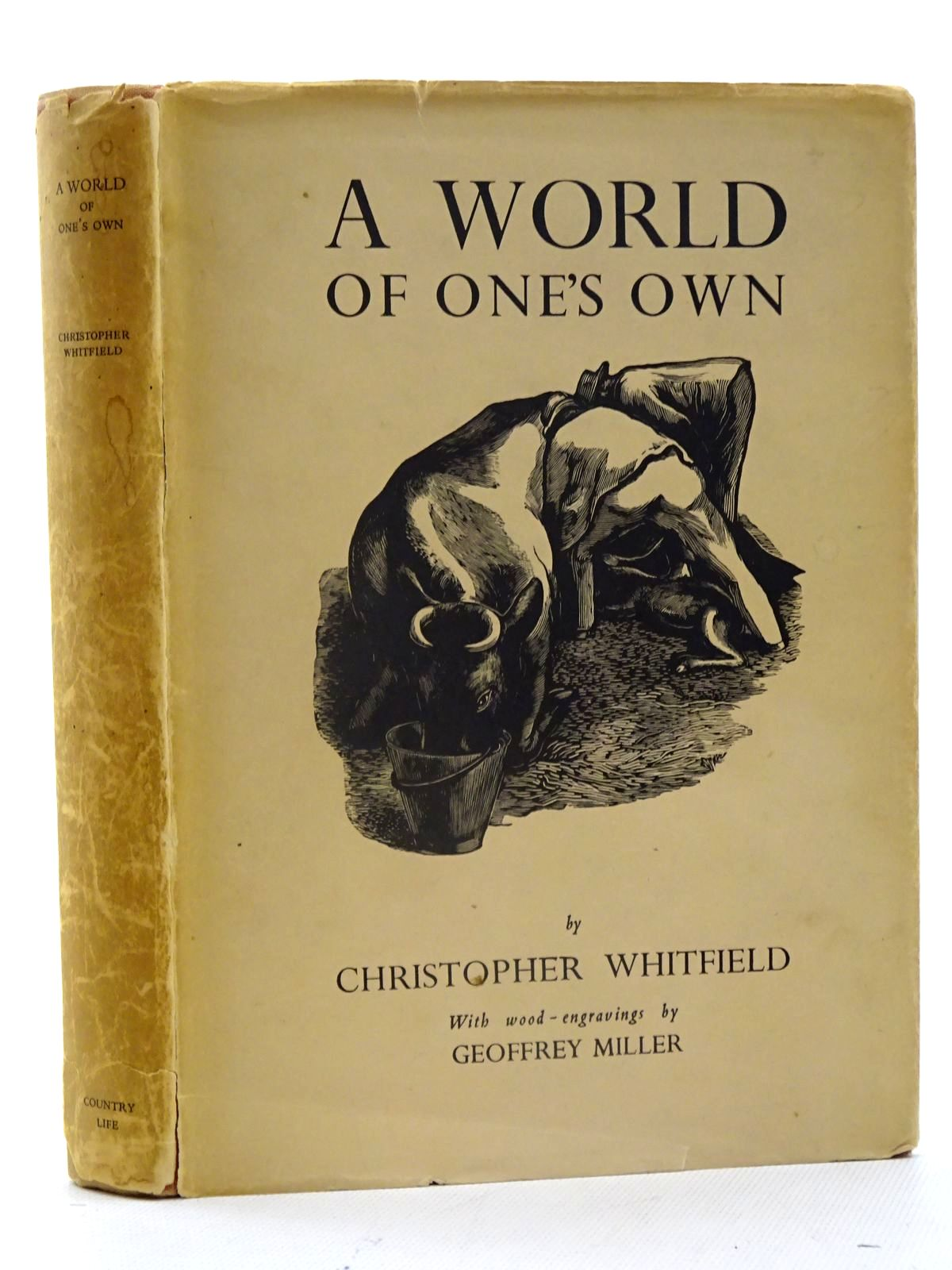 Photo of A WORLD OF ONE'S OWN written by Whitfield, Christopher illustrated by Miller, Geoffrey published by Country Life Limited (STOCK CODE: 2125503)  for sale by Stella & Rose's Books