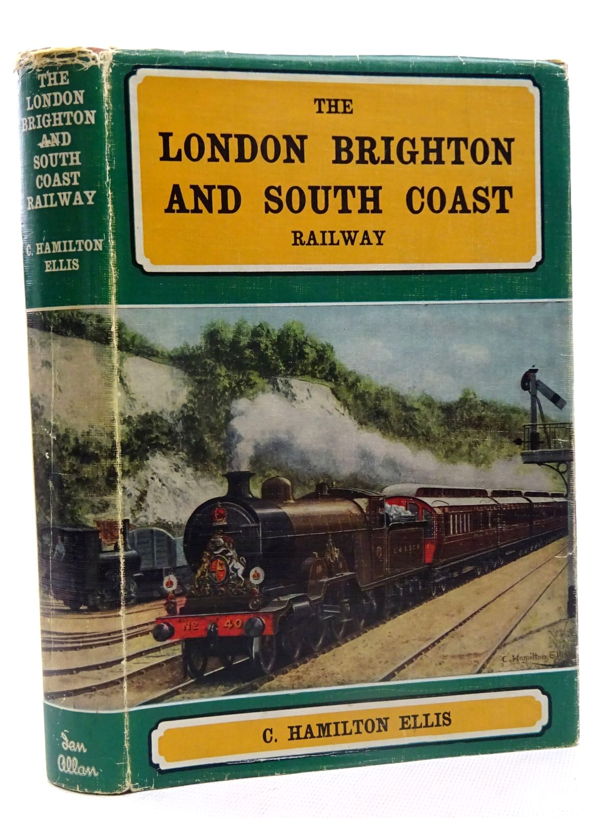 Photo of THE LONDON, BRIGHTON AND SOUTH COAST RAILWAY written by Ellis, C. Hamilton published by Ian Allan (STOCK CODE: 2125539)  for sale by Stella & Rose's Books
