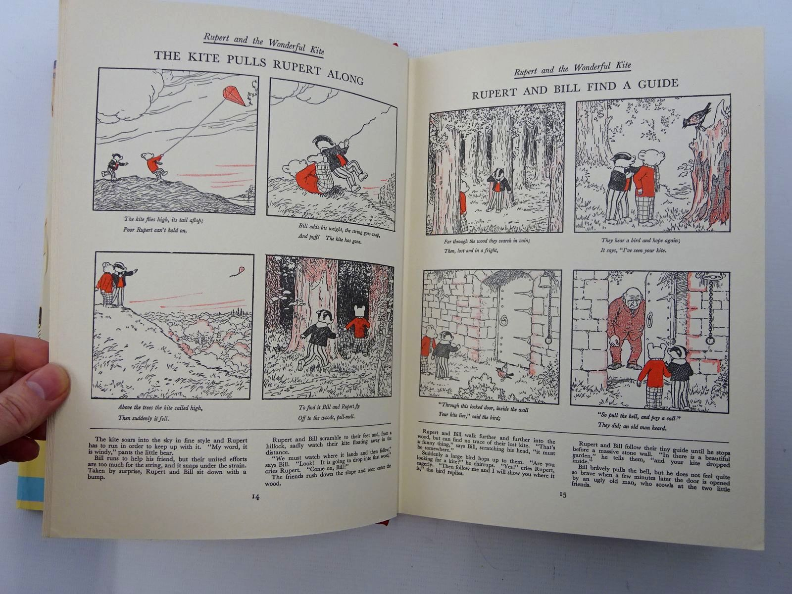Photo of RUPERT ANNUAL 1936 (FACSIMILE) - THE NEW ADVENTURES OF RUPERT written by Bestall, Alfred illustrated by Bestall, Alfred published by Daily Express (STOCK CODE: 2125669)  for sale by Stella & Rose's Books