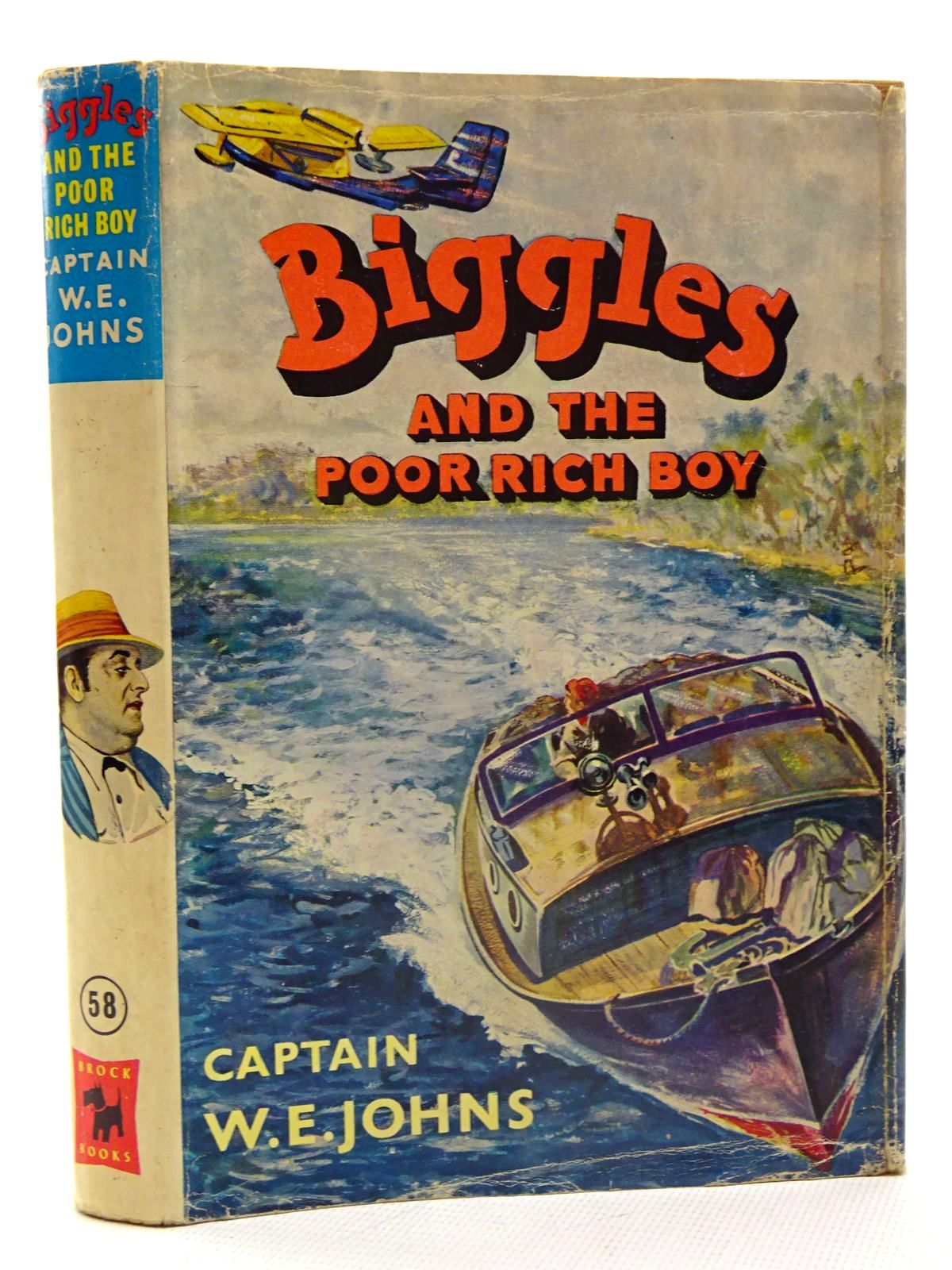 Photo of BIGGLES AND THE POOR RICH BOY written by Johns, W.E. illustrated by Stead, Leslie published by Brockhampton Press (STOCK CODE: 2125695)  for sale by Stella & Rose's Books