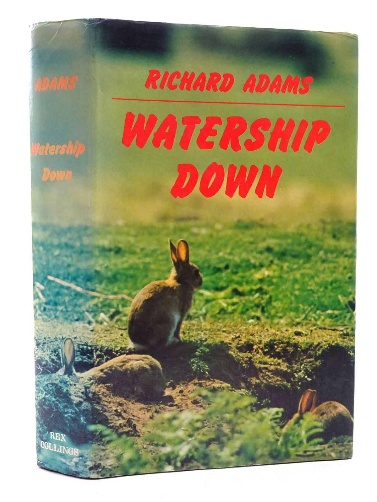 Photo of WATERSHIP DOWN written by Adams, Richard published by Rex Collings (STOCK CODE: 2125699)  for sale by Stella & Rose's Books