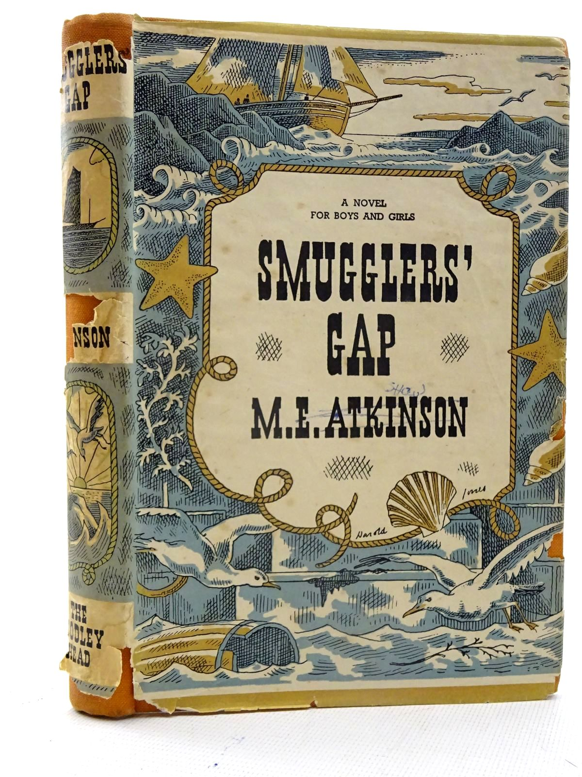 Photo of SMUGGLERS' GAP written by Atkinson, M.E. illustrated by Jones, Harold published by John Lane The Bodley Head (STOCK CODE: 2125705)  for sale by Stella & Rose's Books