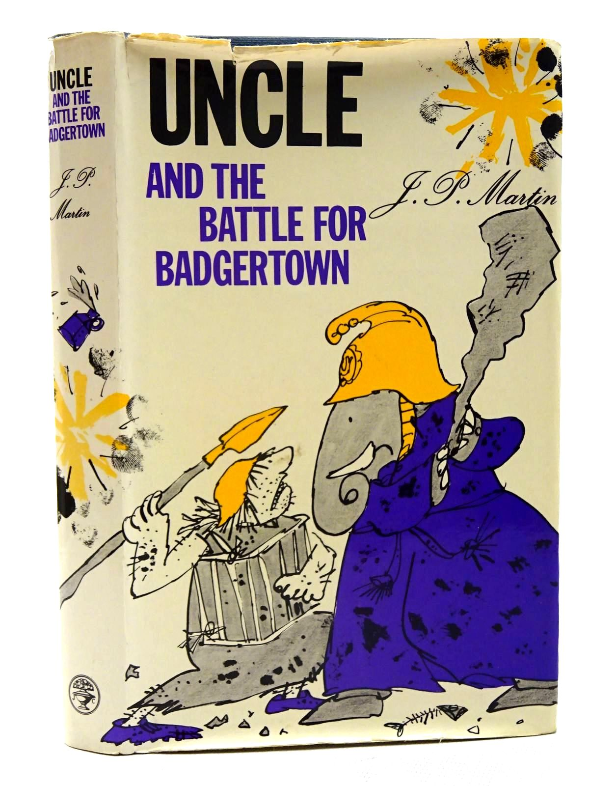 Photo of UNCLE AND THE BATTLE FOR BADGERTOWN written by Martin, J.P. illustrated by Blake, Quentin published by Jonathan Cape (STOCK CODE: 2125757)  for sale by Stella & Rose's Books