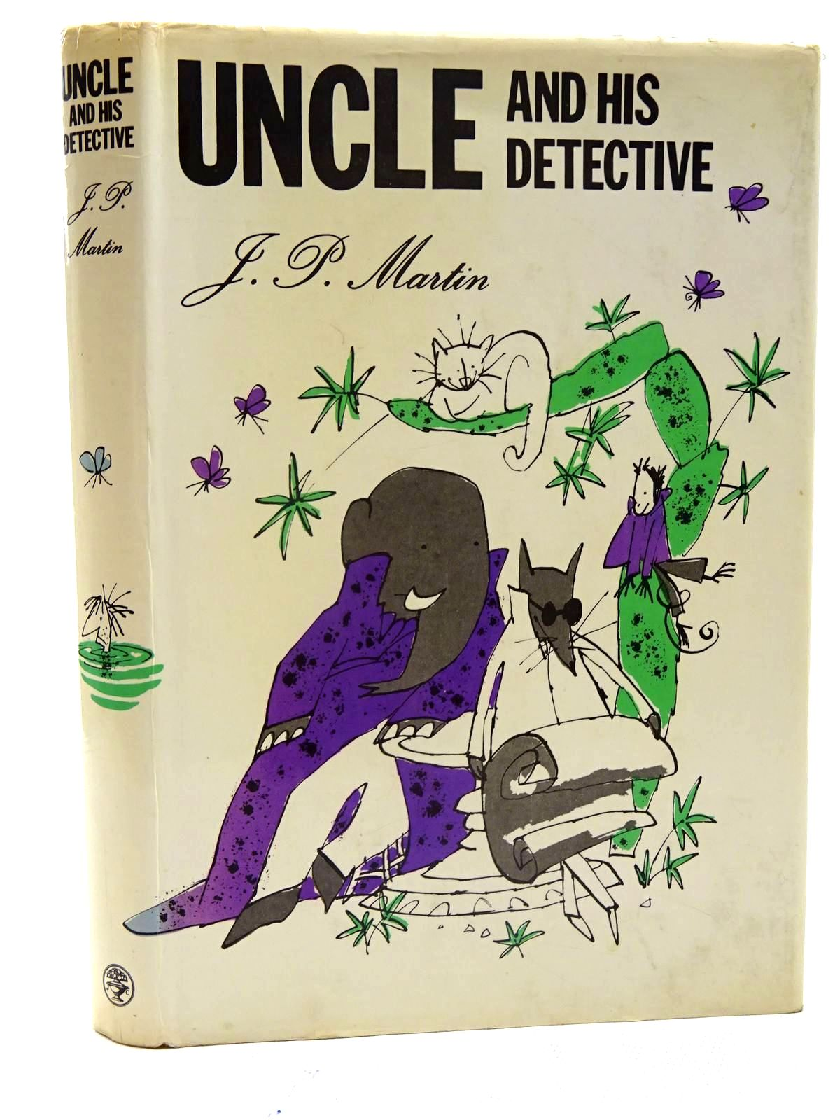 Photo of UNCLE AND HIS DETECTIVE written by Martin, J.P. illustrated by Blake, Quentin published by Jonathan Cape (STOCK CODE: 2125759)  for sale by Stella & Rose's Books