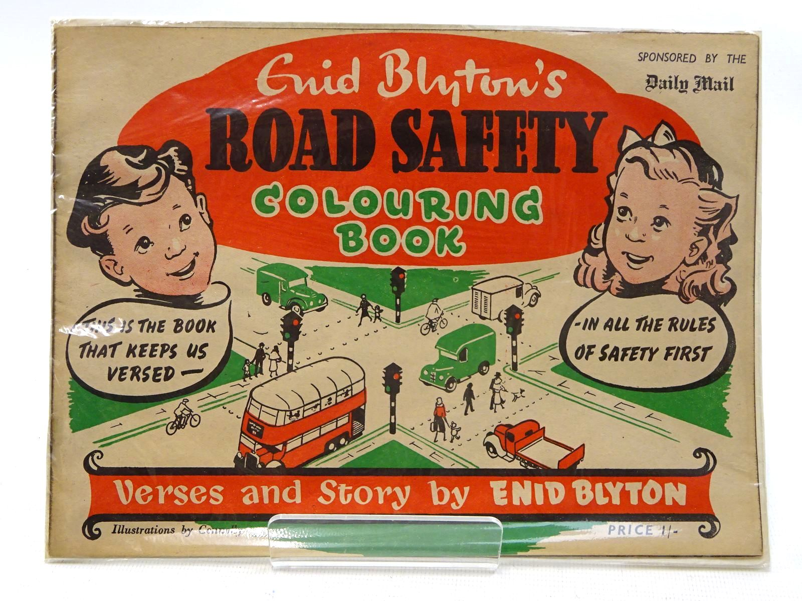 Photo of ENID BLYTON'S ROAD SAFETY COLOURING BOOK written by Blyton, Enid illustrated by Connolly,  published by H.A. and W.L. Pitkin Ltd. (STOCK CODE: 2125811)  for sale by Stella & Rose's Books