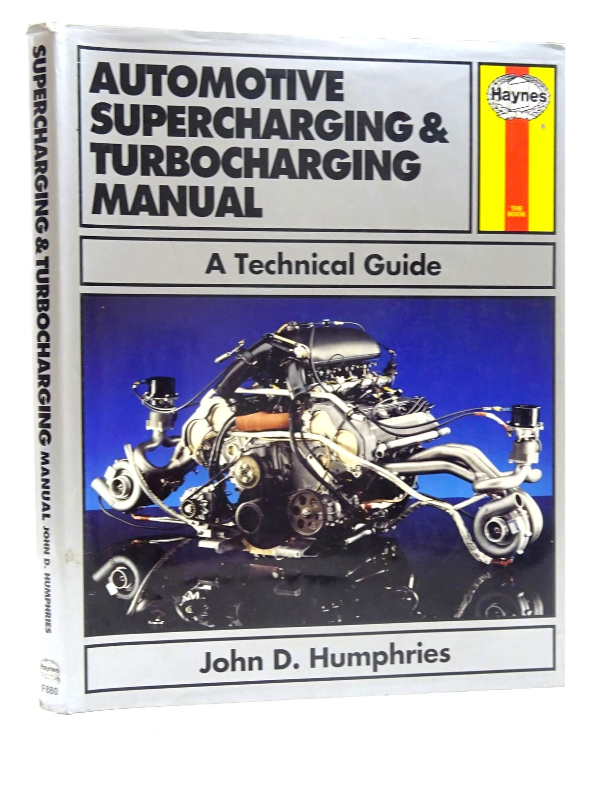 Photo of AUTOMOTIVE SUPERCHARGING AND TURBOCHARGING MANUAL- Stock Number: 2125875