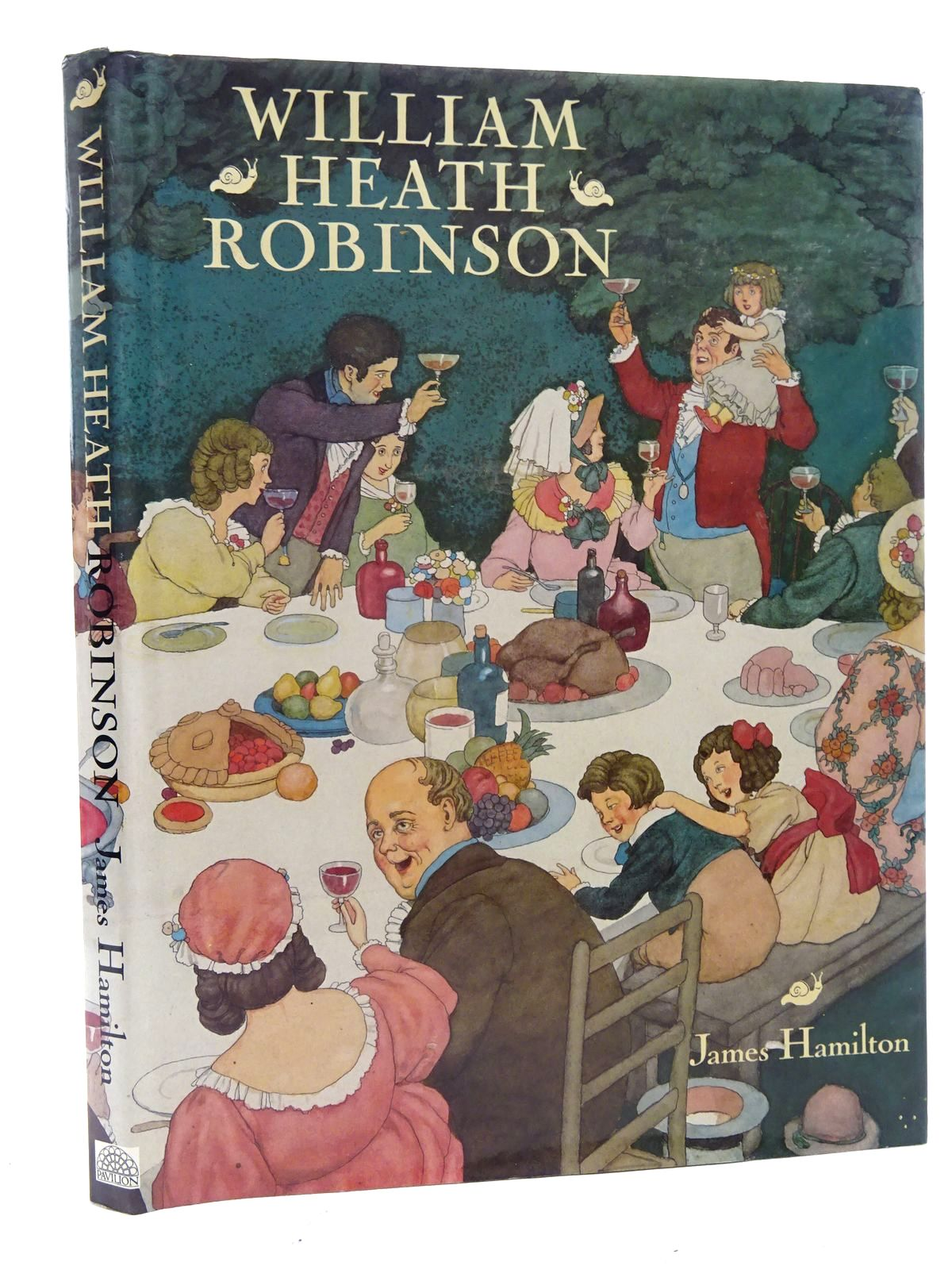 Photo of WILLIAM HEATH ROBINSON written by Hamilton, James illustrated by Robinson, W. Heath published by Pavilion Books Ltd. (STOCK CODE: 2125880)  for sale by Stella & Rose's Books