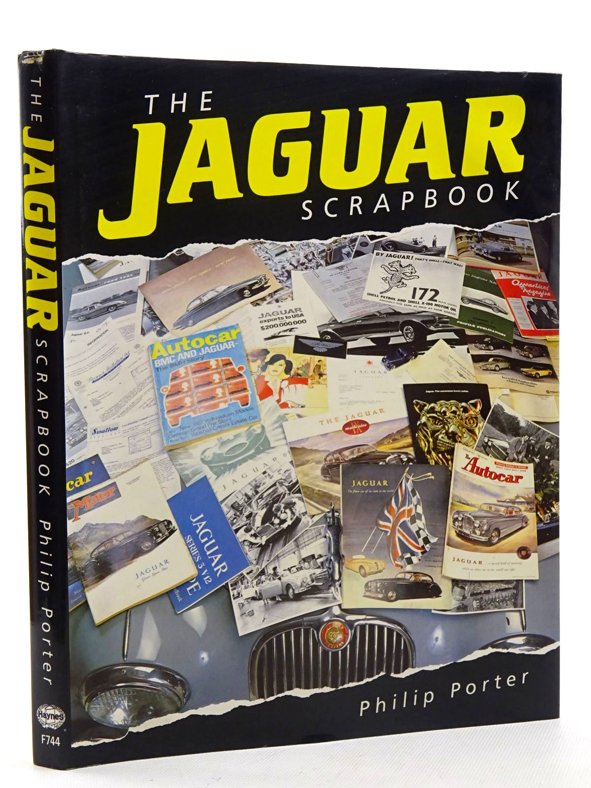 Photo of THE JAGUAR SCRAPBOOK written by Porter, Philip published by Haynes Publishing Group (STOCK CODE: 2125903)  for sale by Stella & Rose's Books