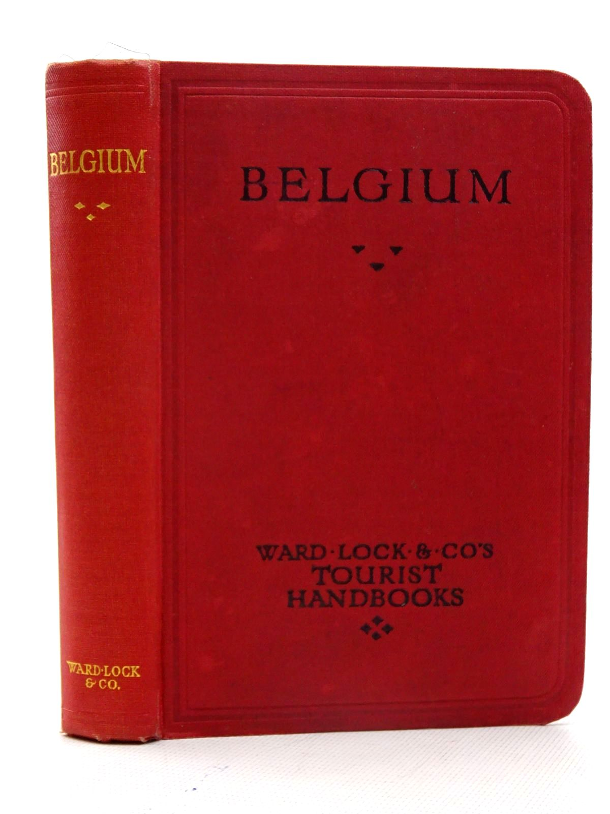 Photo of HAND BOOK TO BELGIUM AND THE BATTLEFIELDS written by Ward Lock, (STOCK CODE: 2125923)  for sale by Stella & Rose's Books