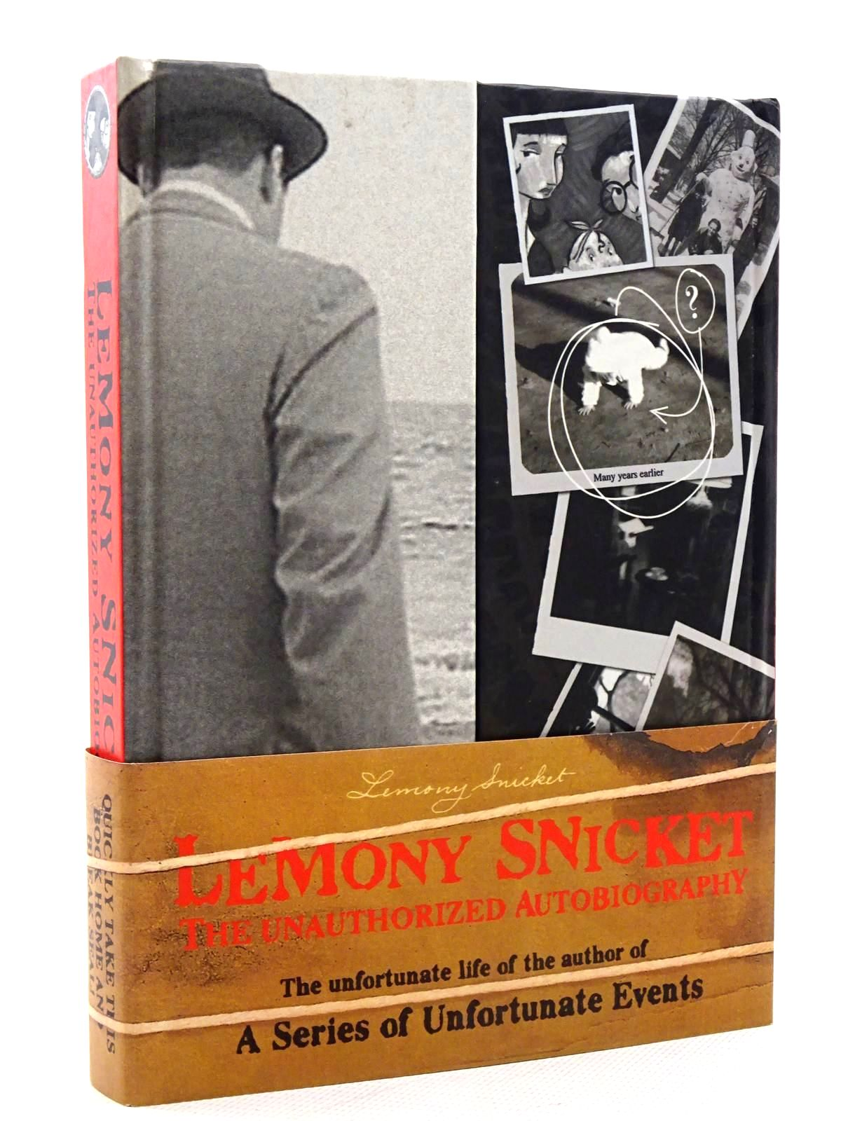 Photo of LEMONY SNICKET THE UNAUTHORIZED AUTOBIOGRAPHY- Stock Number: 2125929