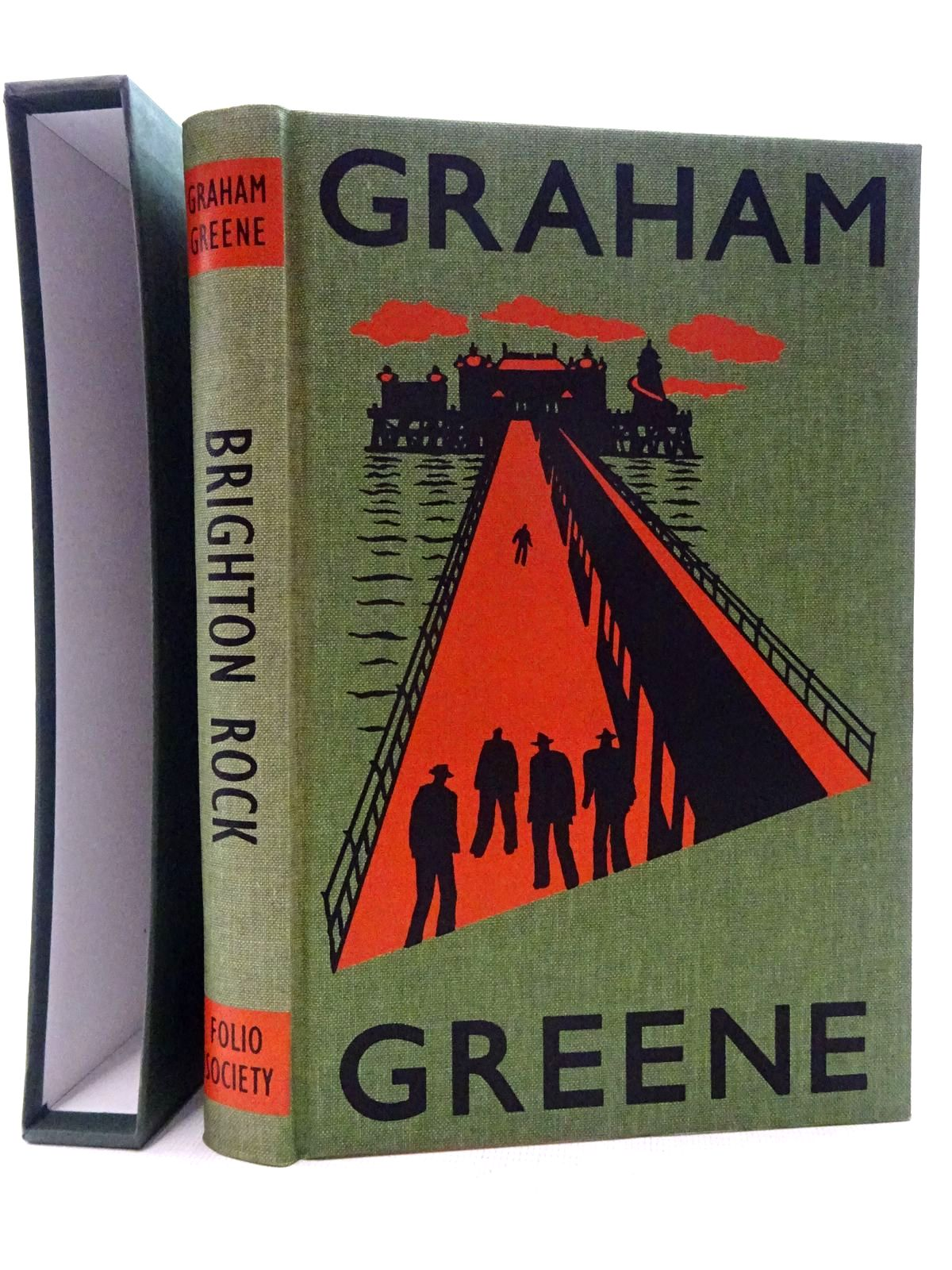 Photo of BRIGHTON ROCK written by Greene, Graham illustrated by Grandfield, Geoff published by Folio Society (STOCK CODE: 2126037)  for sale by Stella & Rose's Books