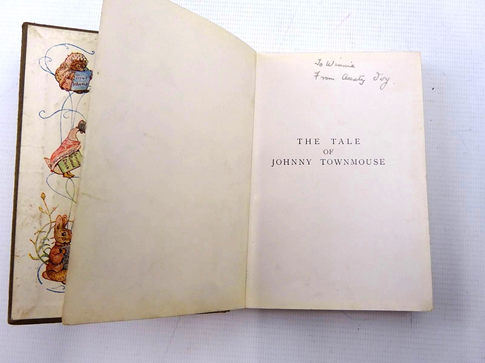 Photo of THE TALE OF JOHNNY TOWN-MOUSE written by Potter, Beatrix illustrated by Potter, Beatrix published by Frederick Warne & Co. (STOCK CODE: 2126051)  for sale by Stella & Rose's Books