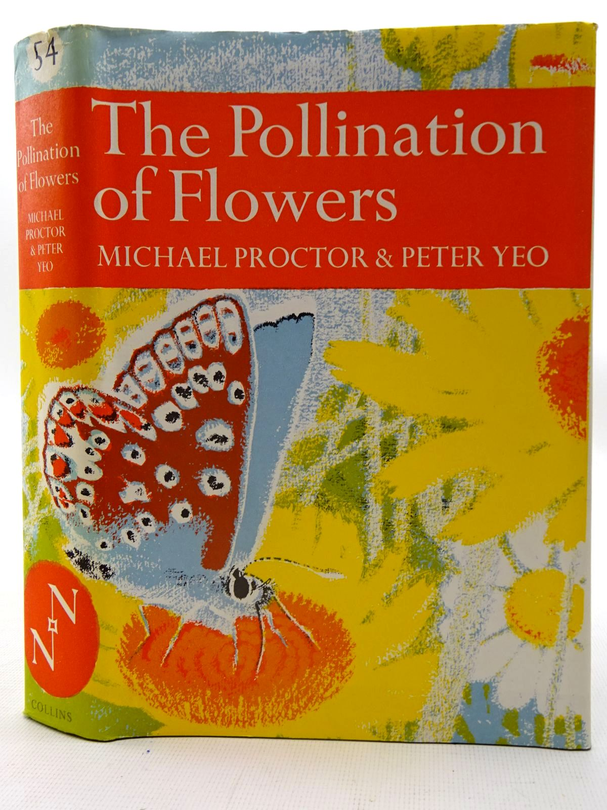 Photo of THE POLLINATION OF FLOWERS (NN 54) written by Proctor, Michael Yeo, Peter published by Collins (STOCK CODE: 2126119)  for sale by Stella & Rose's Books