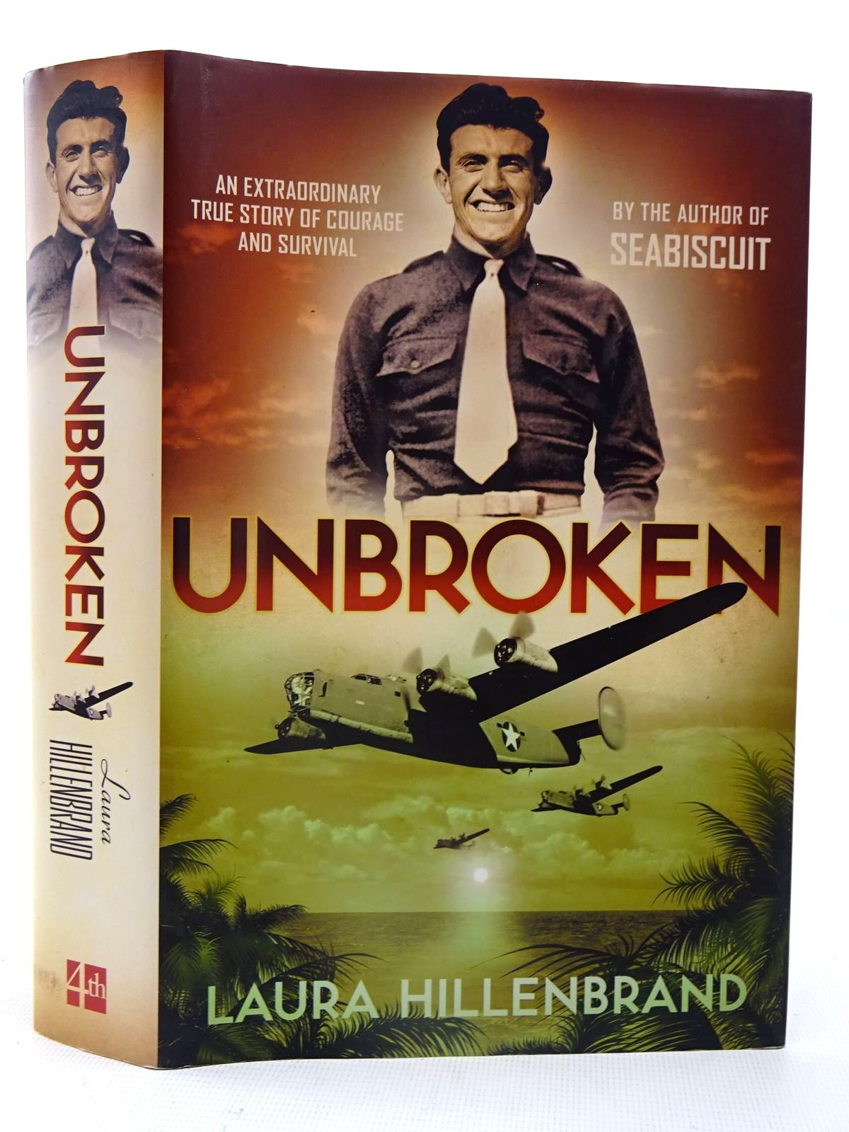 Photo of UNBROKEN: AN EXTRAORDINARY TRUE STORY OF COURAGE AND SURVIVAL written by Hillenbrand, Laura published by Fourth Estate (STOCK CODE: 2126202)  for sale by Stella & Rose's Books
