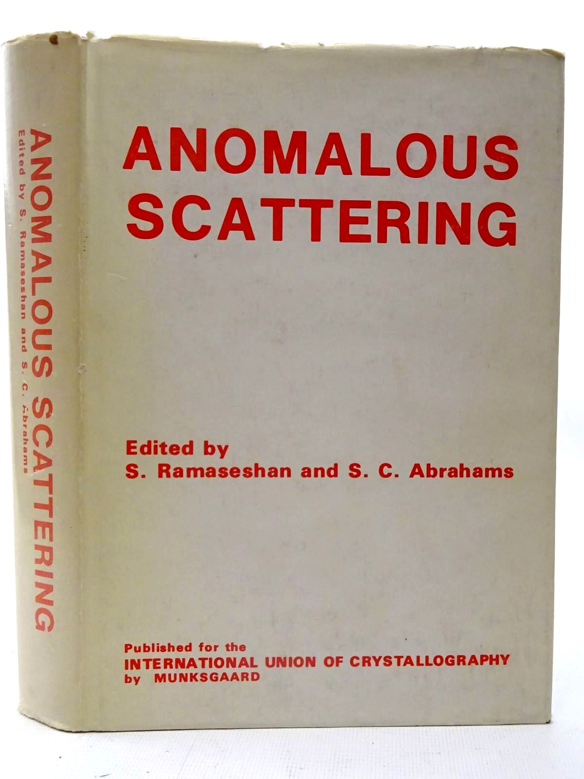 Photo of ANOMALOUS SCATTERING- Stock Number: 2126206