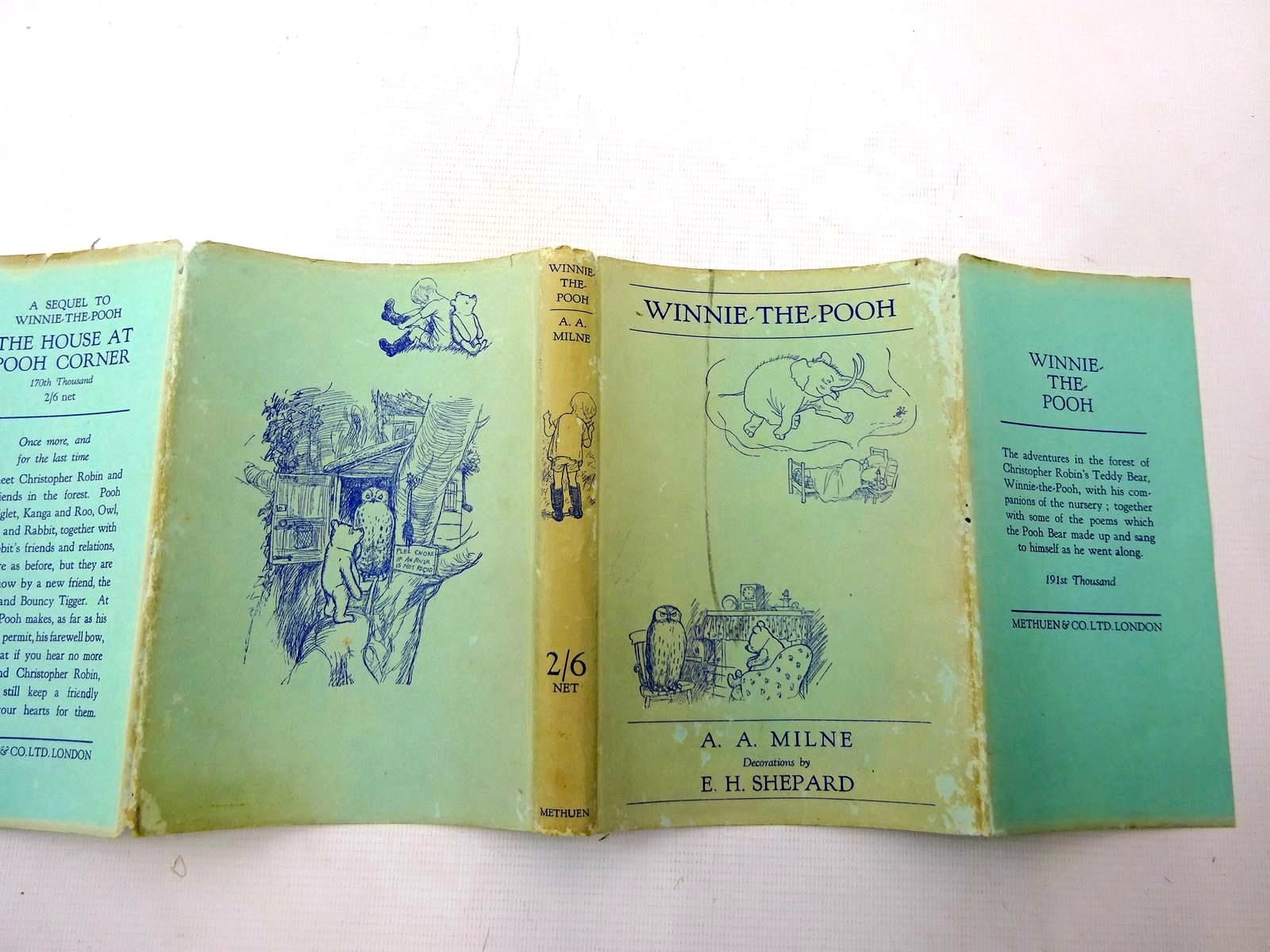 Photo of WINNIE-THE-POOH written by Milne, A.A. illustrated by Shepard, E.H. published by Methuen & Co. Ltd. (STOCK CODE: 2126220)  for sale by Stella & Rose's Books