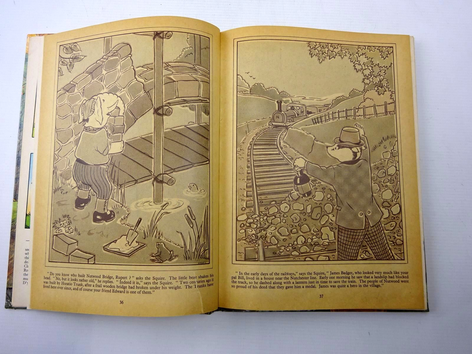 Photo of RUPERT ANNUAL 1968 written by Bestall, Alfred illustrated by Bestall, Alfred published by Daily Express (STOCK CODE: 2126224)  for sale by Stella & Rose's Books