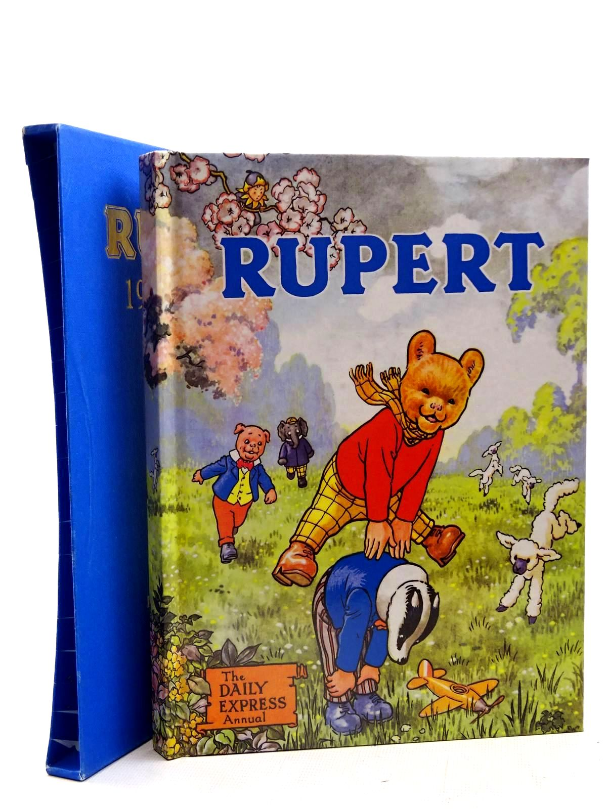 Photo of RUPERT ANNUAL 1958 (FACSIMILE) written by Bestall, Alfred illustrated by Bestall, Alfred published by Express Newspapers Ltd. (STOCK CODE: 2126230)  for sale by Stella & Rose's Books