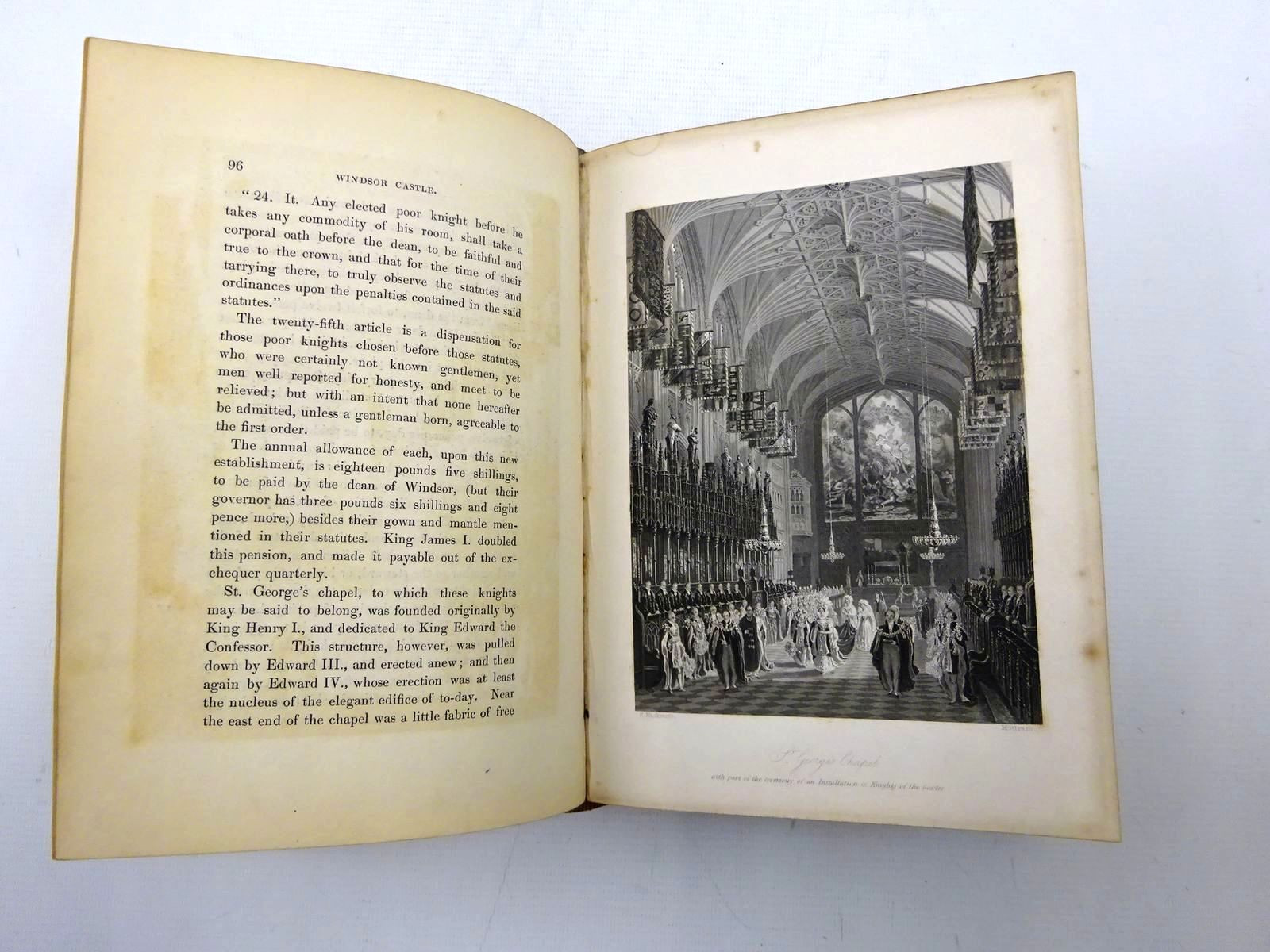 Photo of WINDSOR CASTLE, AND ITS ENVIRONS written by Ritchie, Leitch published by Longman, Orme, Brown, Green and Longmans (STOCK CODE: 2126244)  for sale by Stella & Rose's Books