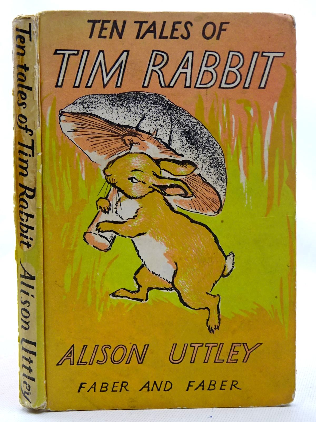 Photo of TEN TALES OF TIM RABBIT written by Uttley, Alison illustrated by Buckels, Alec published by Faber & Faber (STOCK CODE: 2126270)  for sale by Stella & Rose's Books