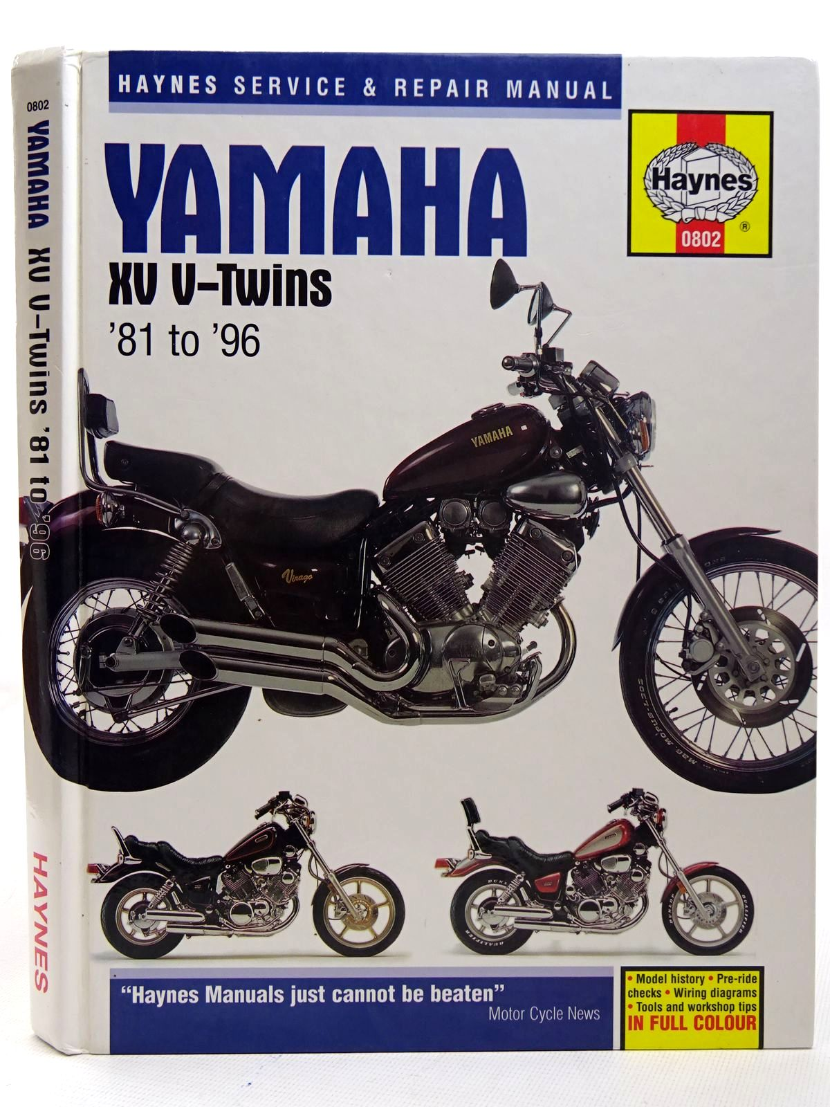 Photo of YAMAHA XV V-TWINS SERVICE AND REPAIR MANUAL- Stock Number: 2126342