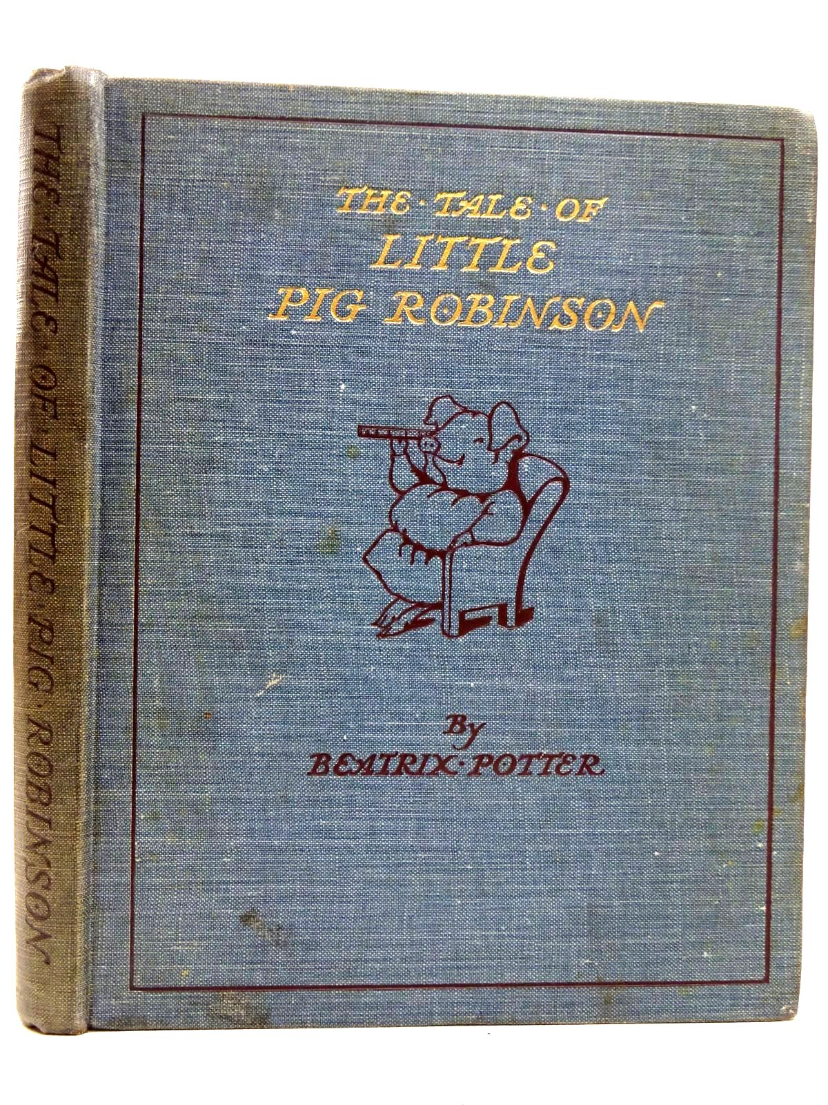Photo of THE TALE OF LITTLE PIG ROBINSON written by Potter, Beatrix illustrated by Potter, Beatrix published by Frederick Warne & Co Ltd. (STOCK CODE: 2126374)  for sale by Stella & Rose's Books