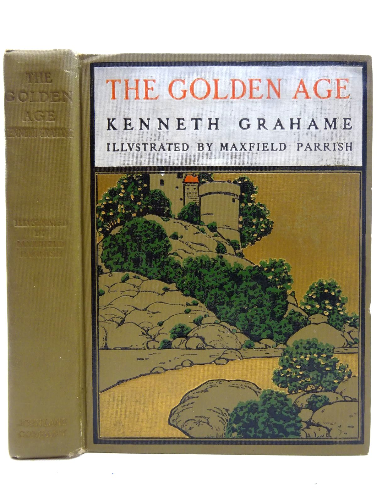 Photo of THE GOLDEN AGE written by Grahame, Kenneth illustrated by Parrish, Maxfield published by John Lane The Bodley Head (STOCK CODE: 2126390)  for sale by Stella & Rose's Books