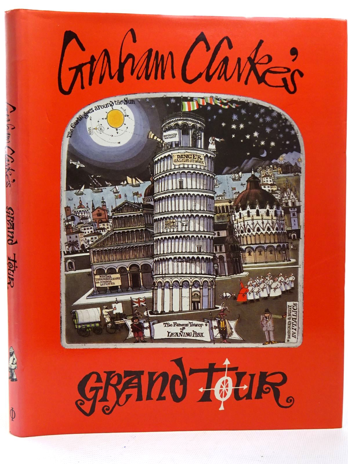 Photo of GRAHAM CLARKE'S GRAND TOUR written by Clarke, Graham illustrated by Clarke, Graham published by Phaidon Press Limited (STOCK CODE: 2126394)  for sale by Stella & Rose's Books